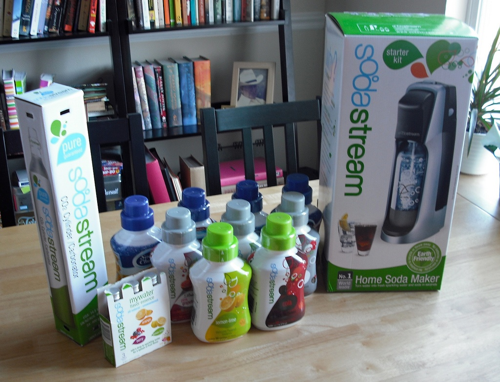 CPG beverage market research sodastream pepsi