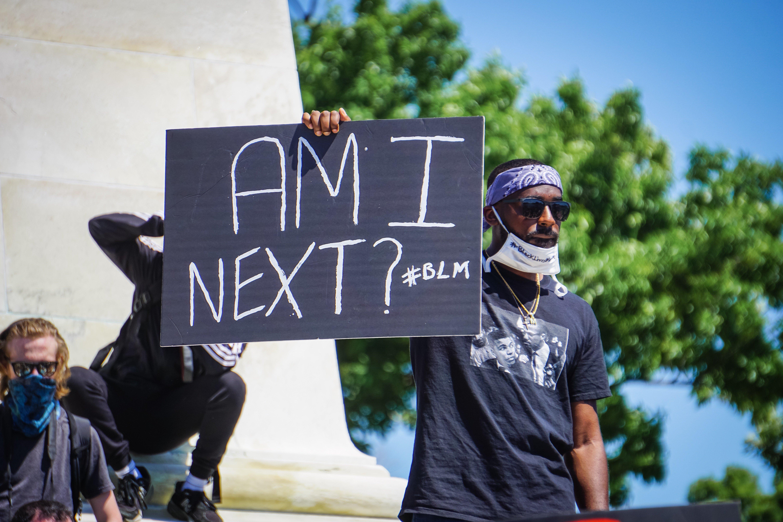 black lives matter protest am i next