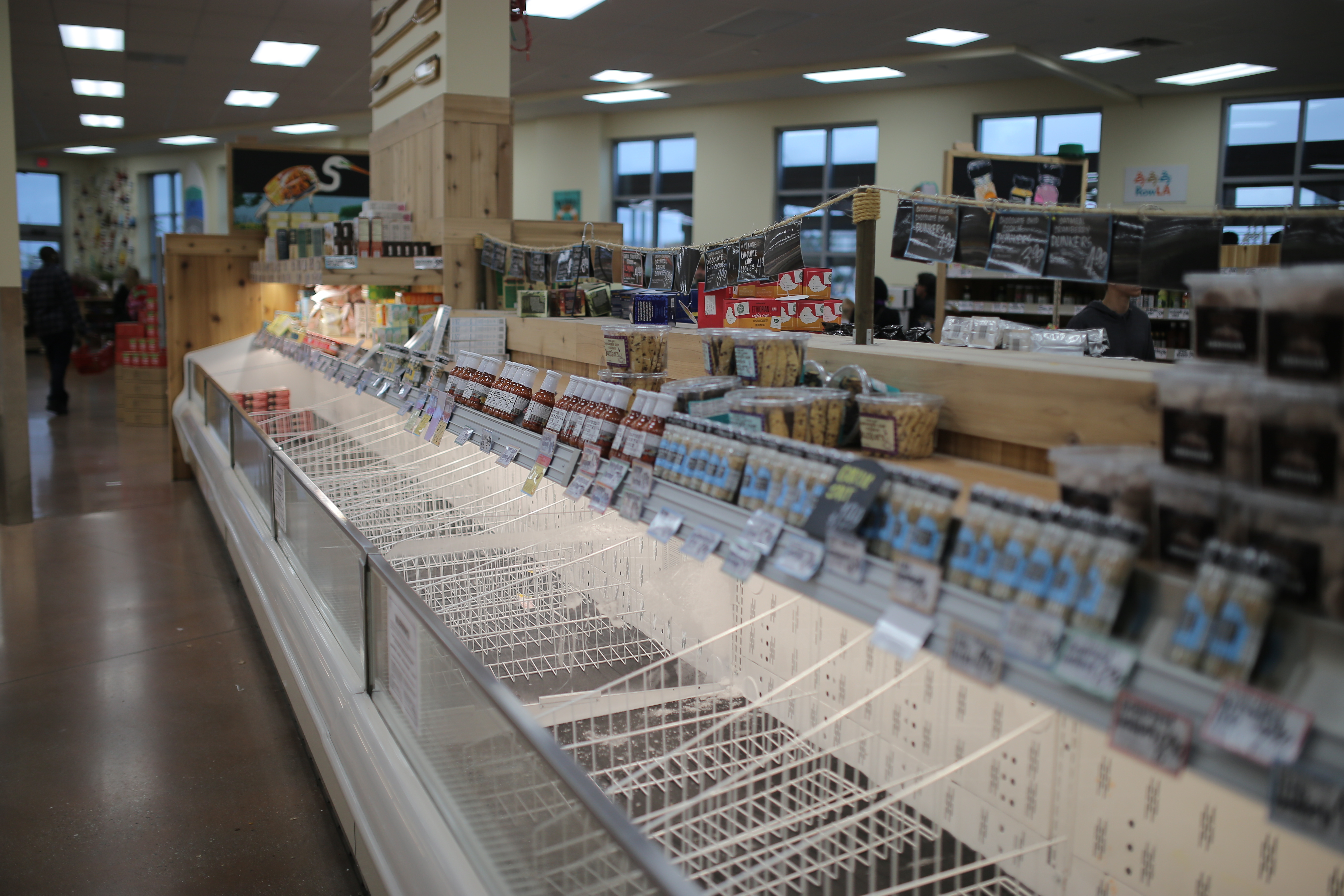 coronavirus grocery industry market research shortages