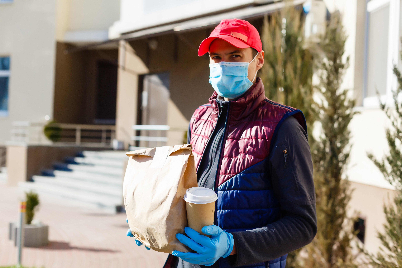 coronavirus market research food delivery quarantine