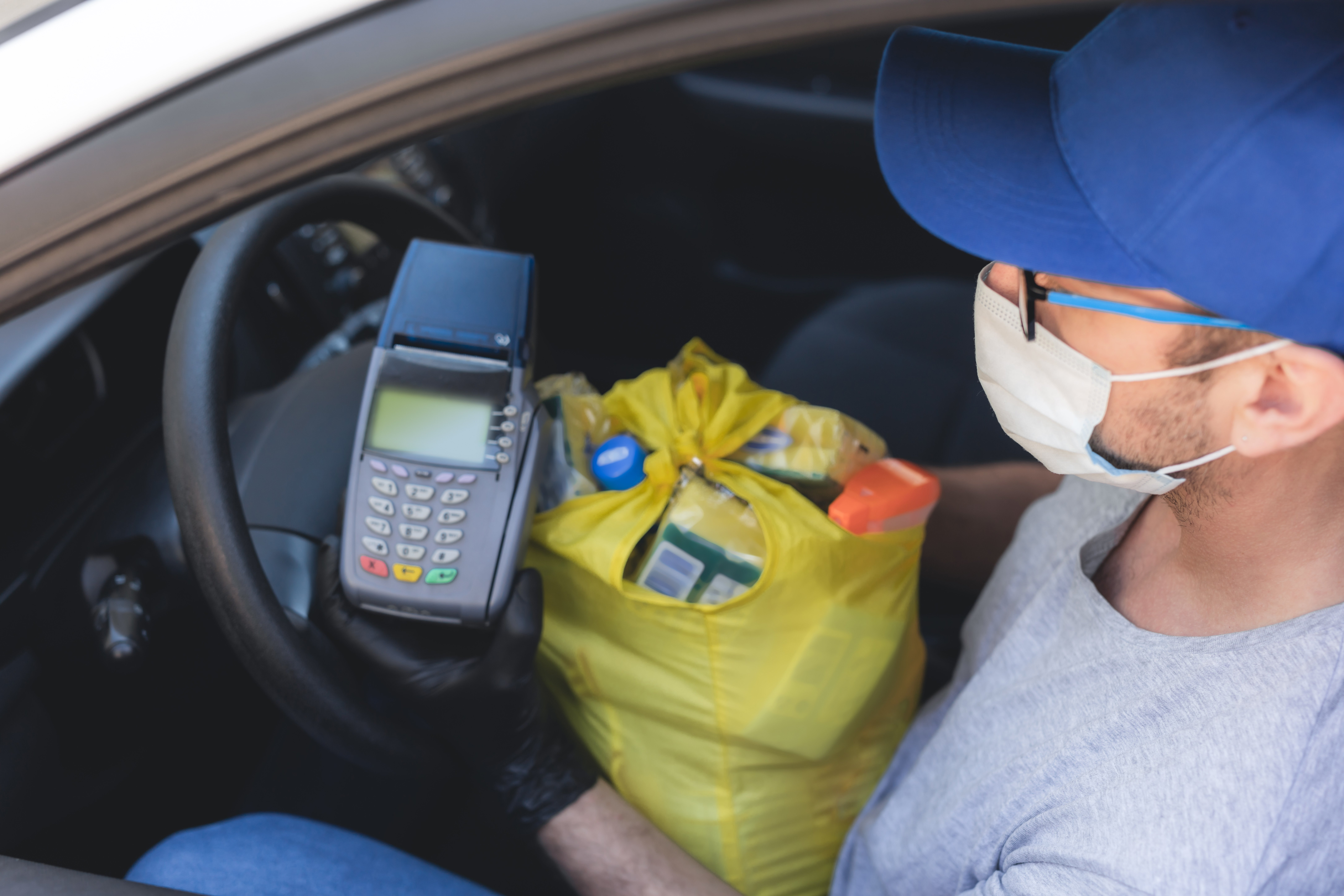 coronavirus market research grocery delivery driver
