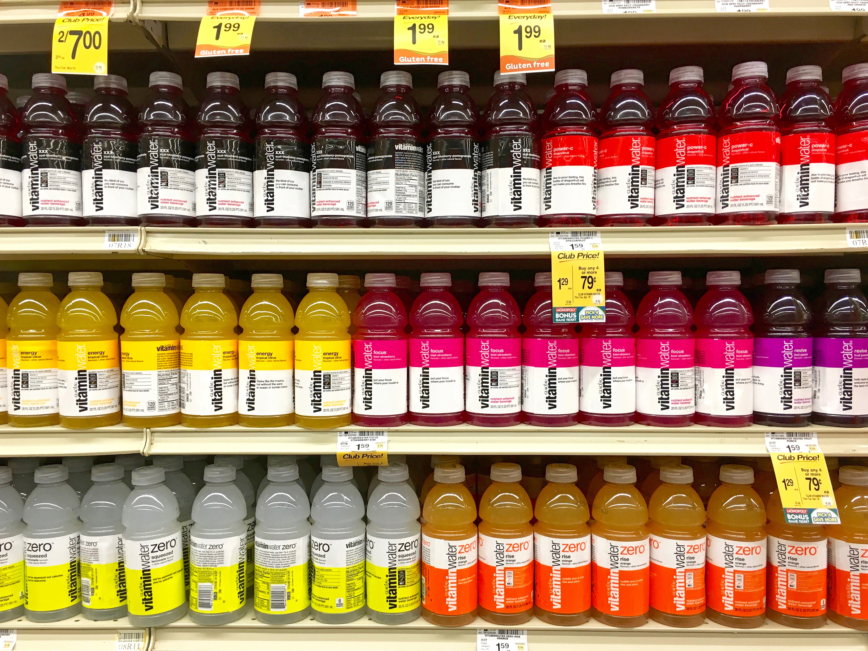 cpg market research vitamin water