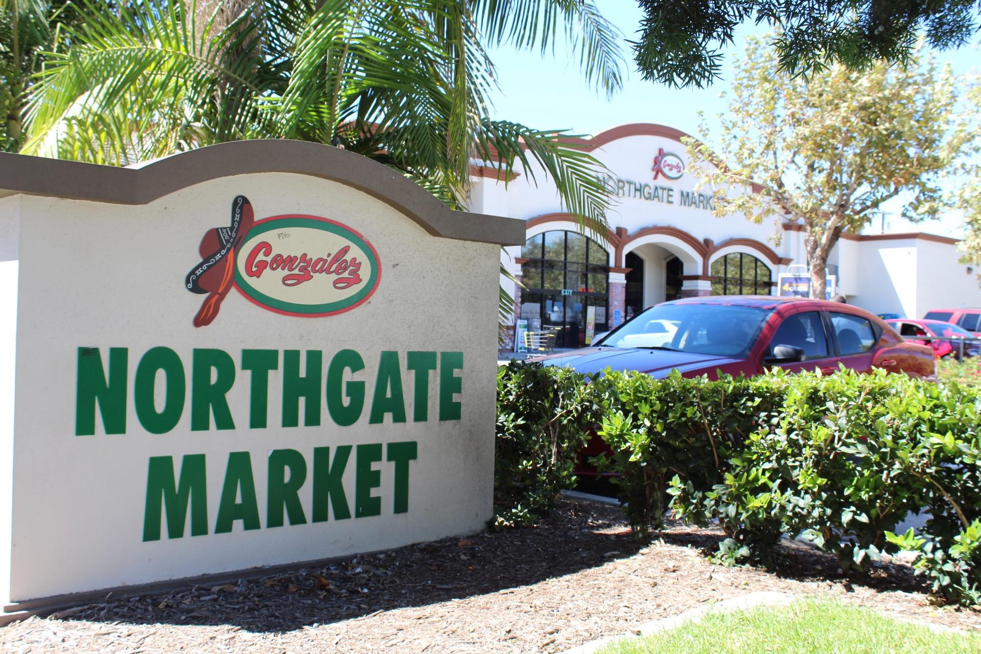 customer intercepts northgate market exterior