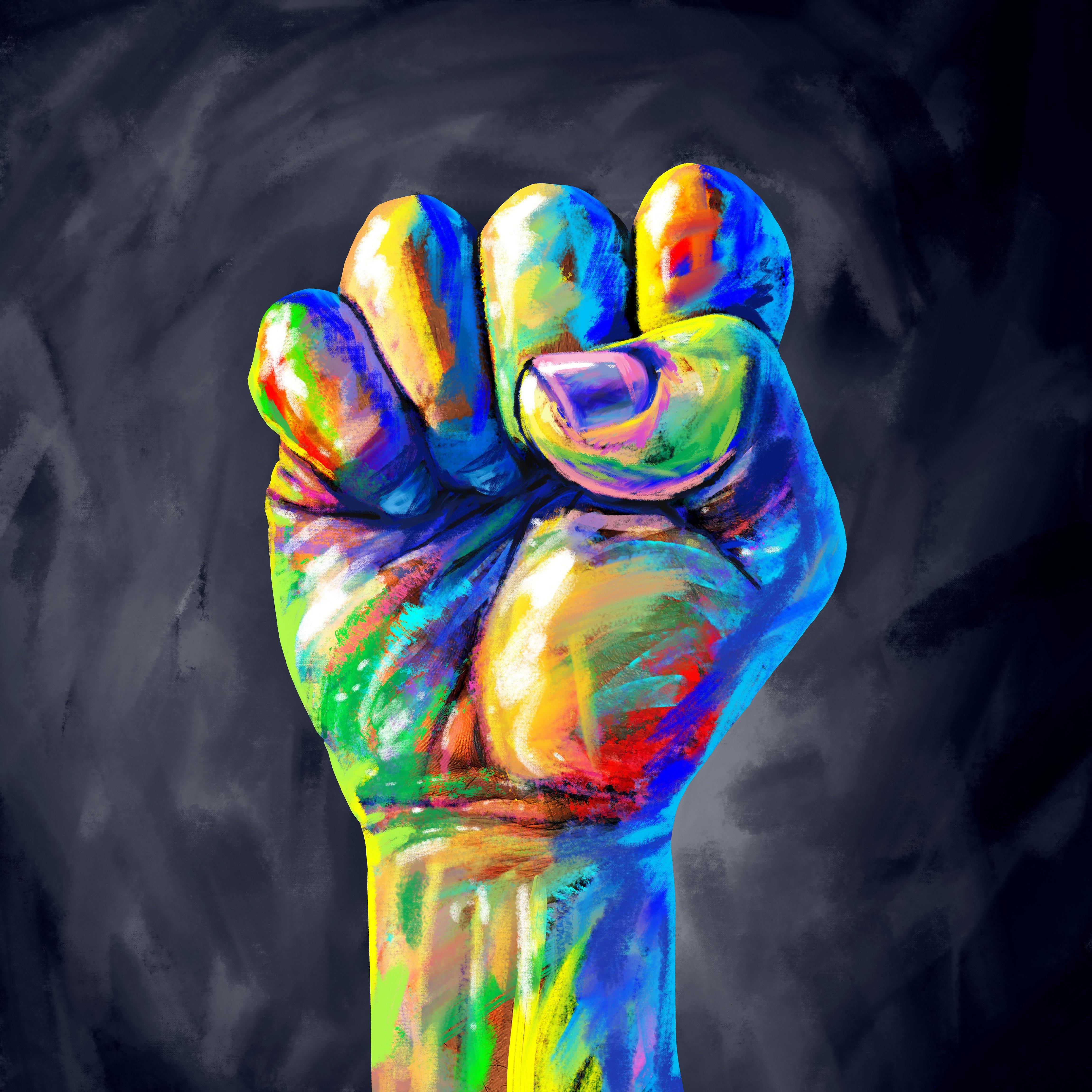 diversity inclusion fist
