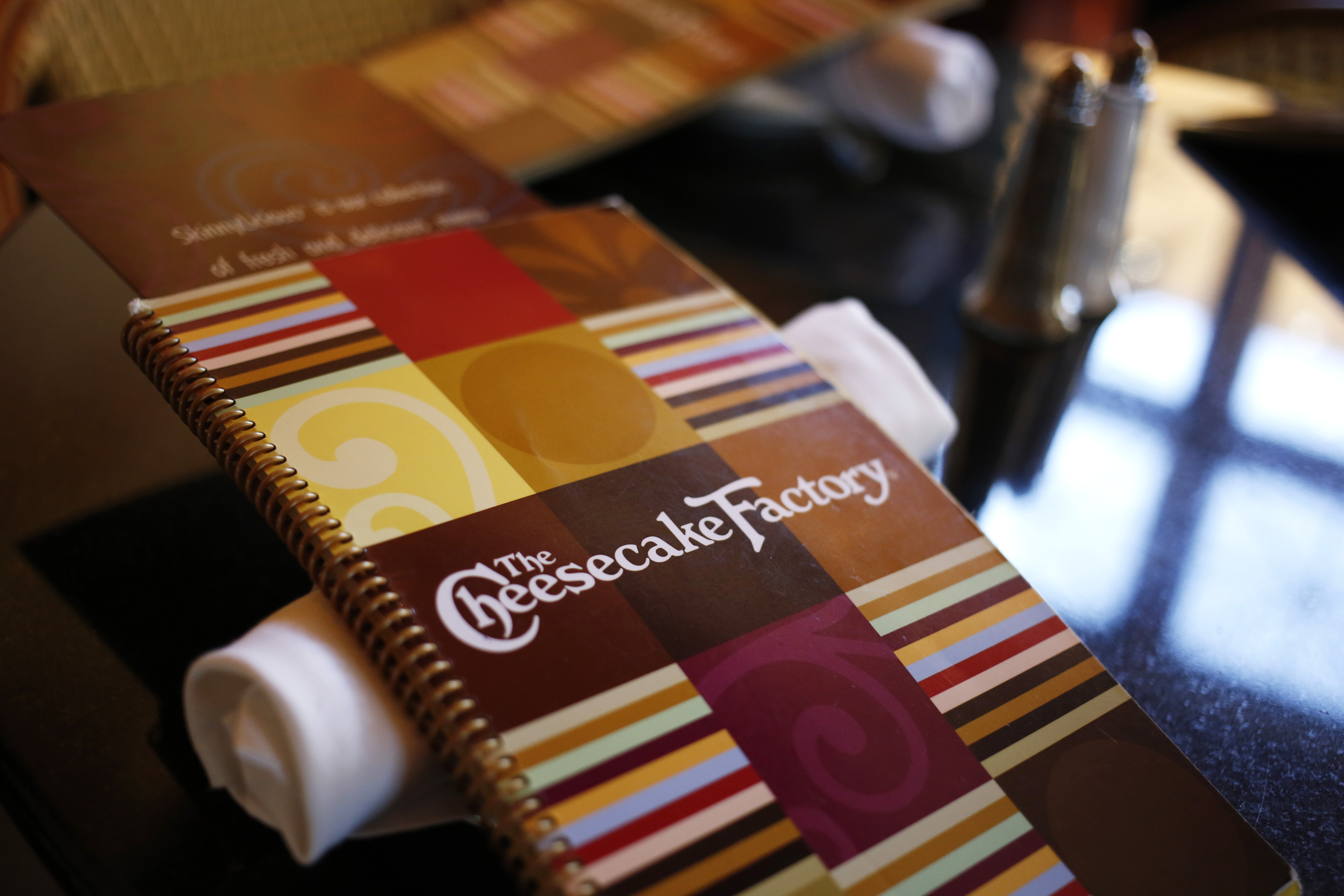 food industry market research cheesecake factory menu