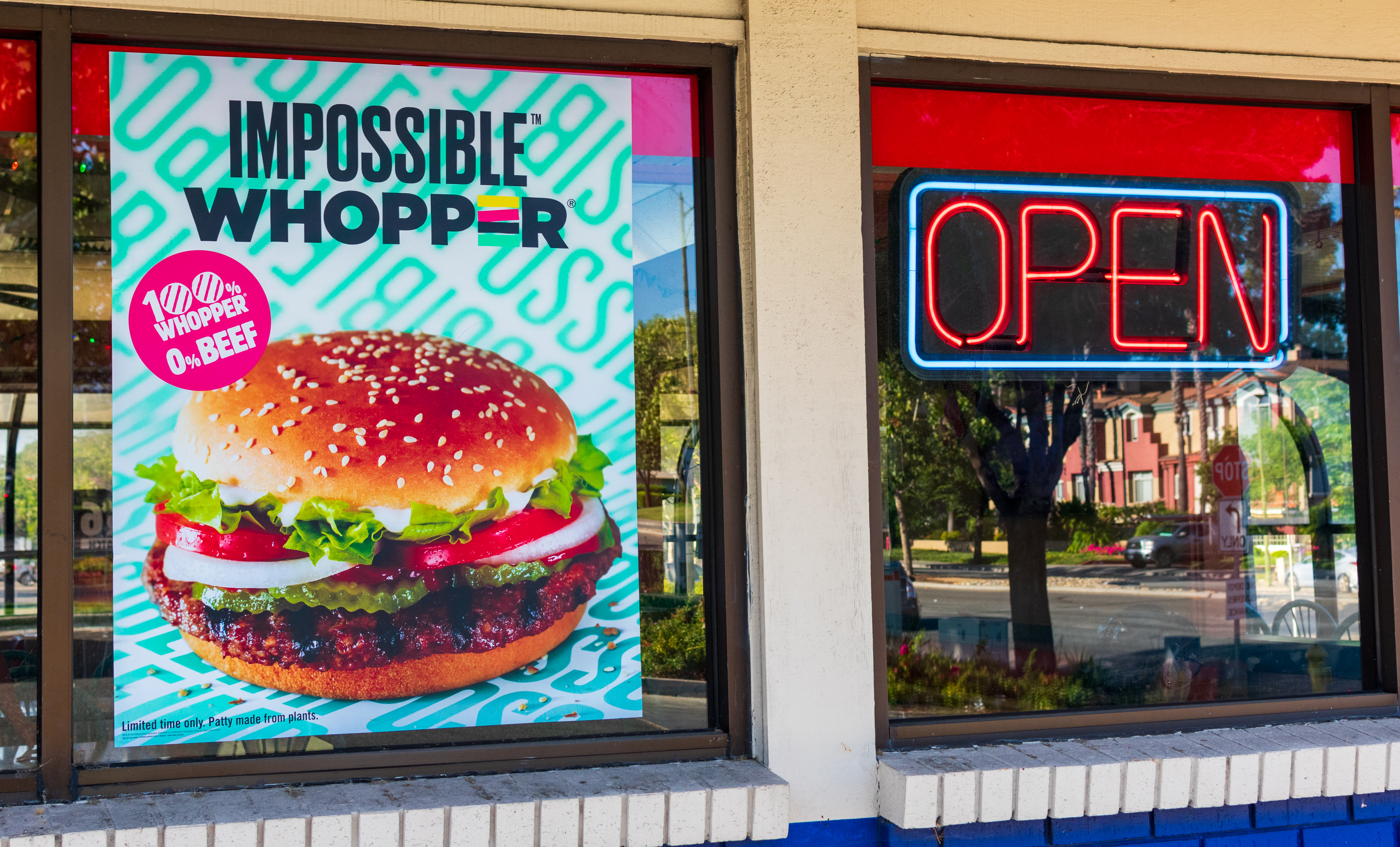 food industry market research impossible whopper
