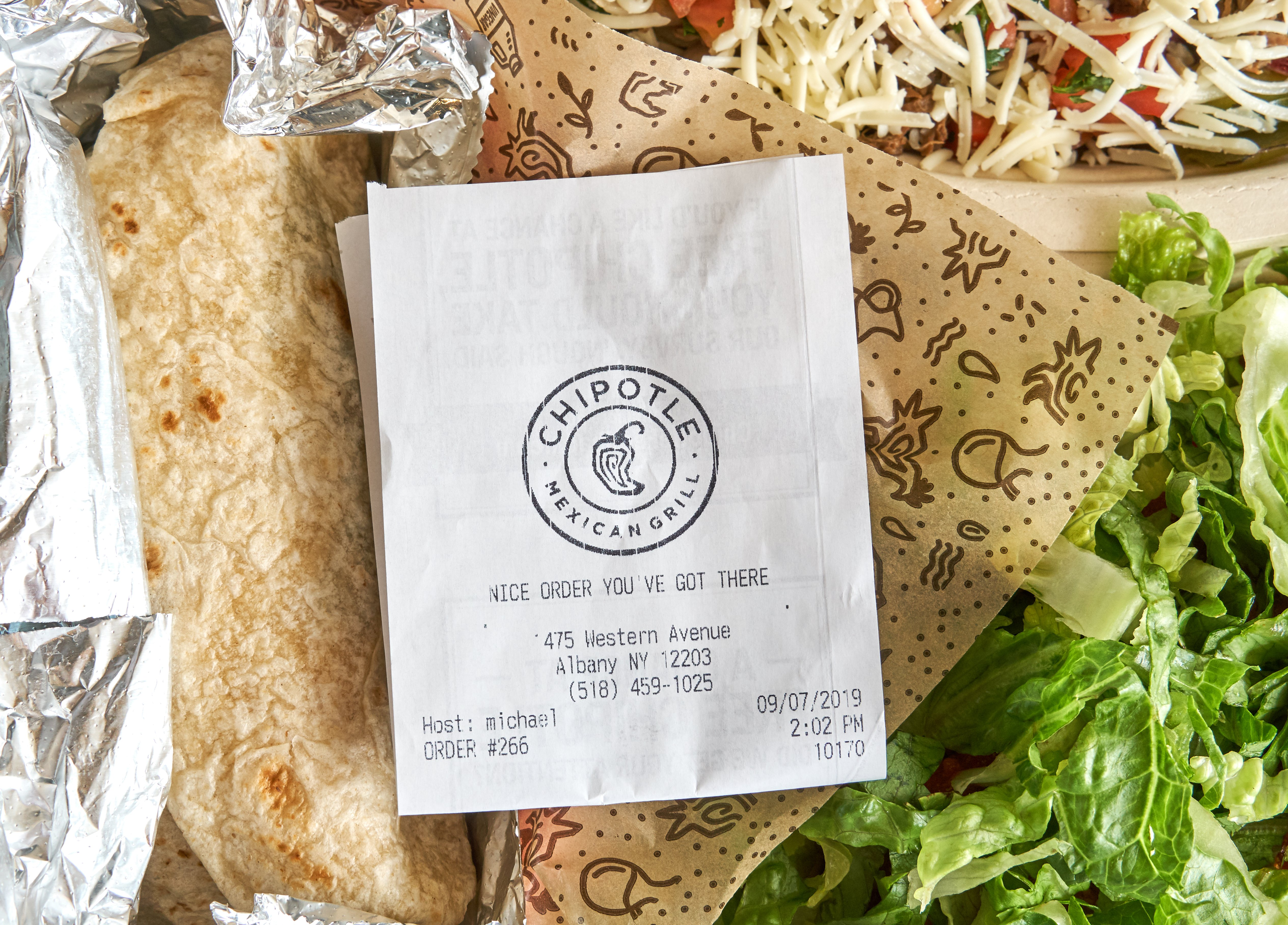 food service market research delivery chipotle
