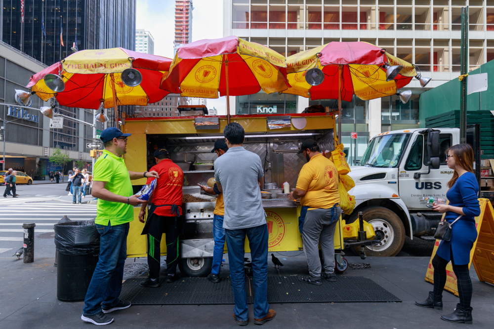 food service market research halal guys