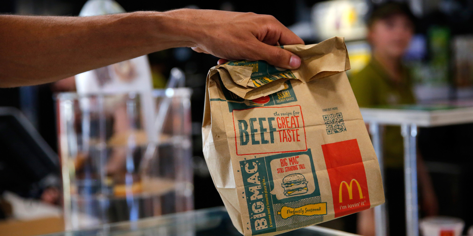 food service market research mcdonalds bag