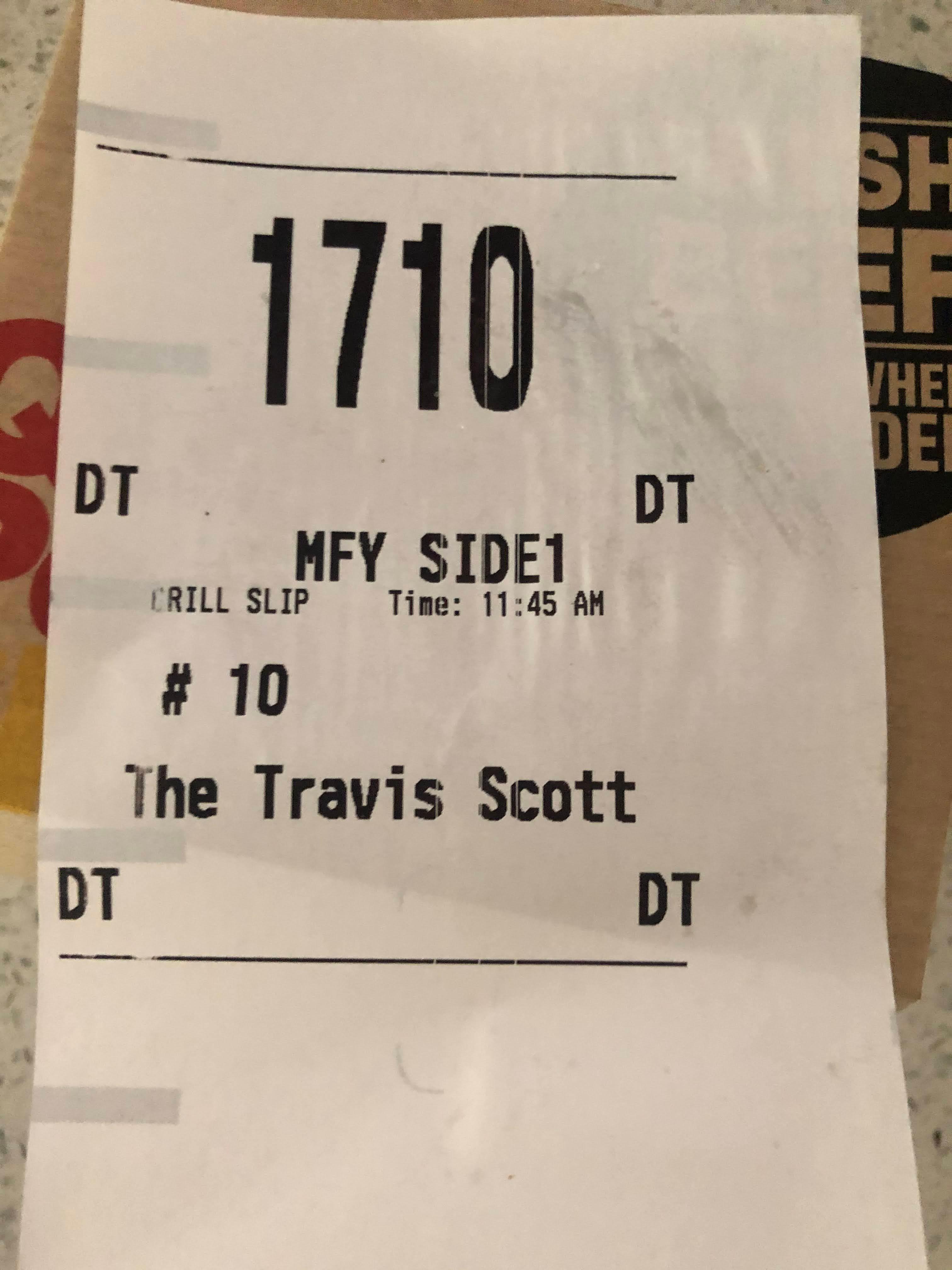 food service market research mcdonalds receipt