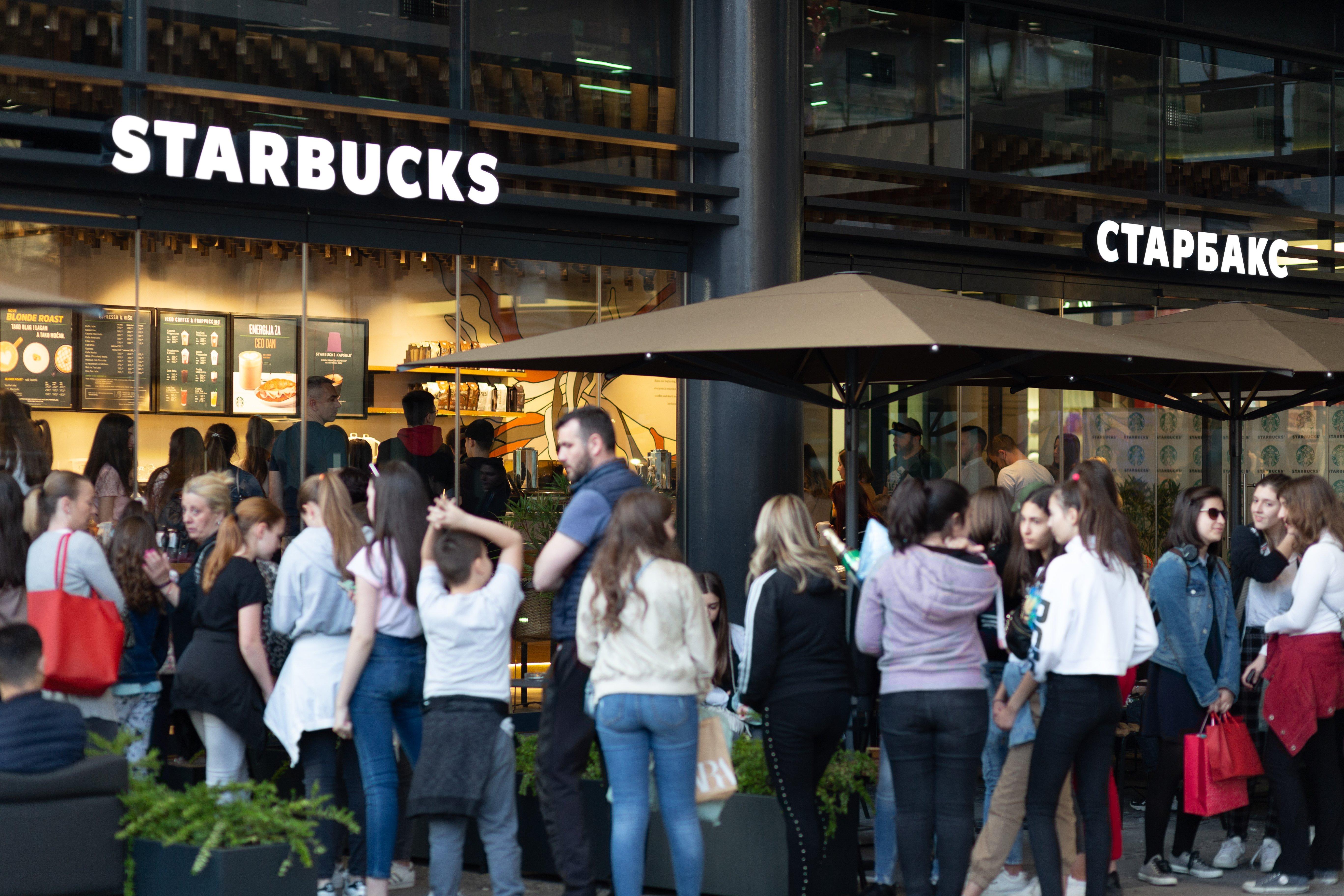 food service market research starbucks