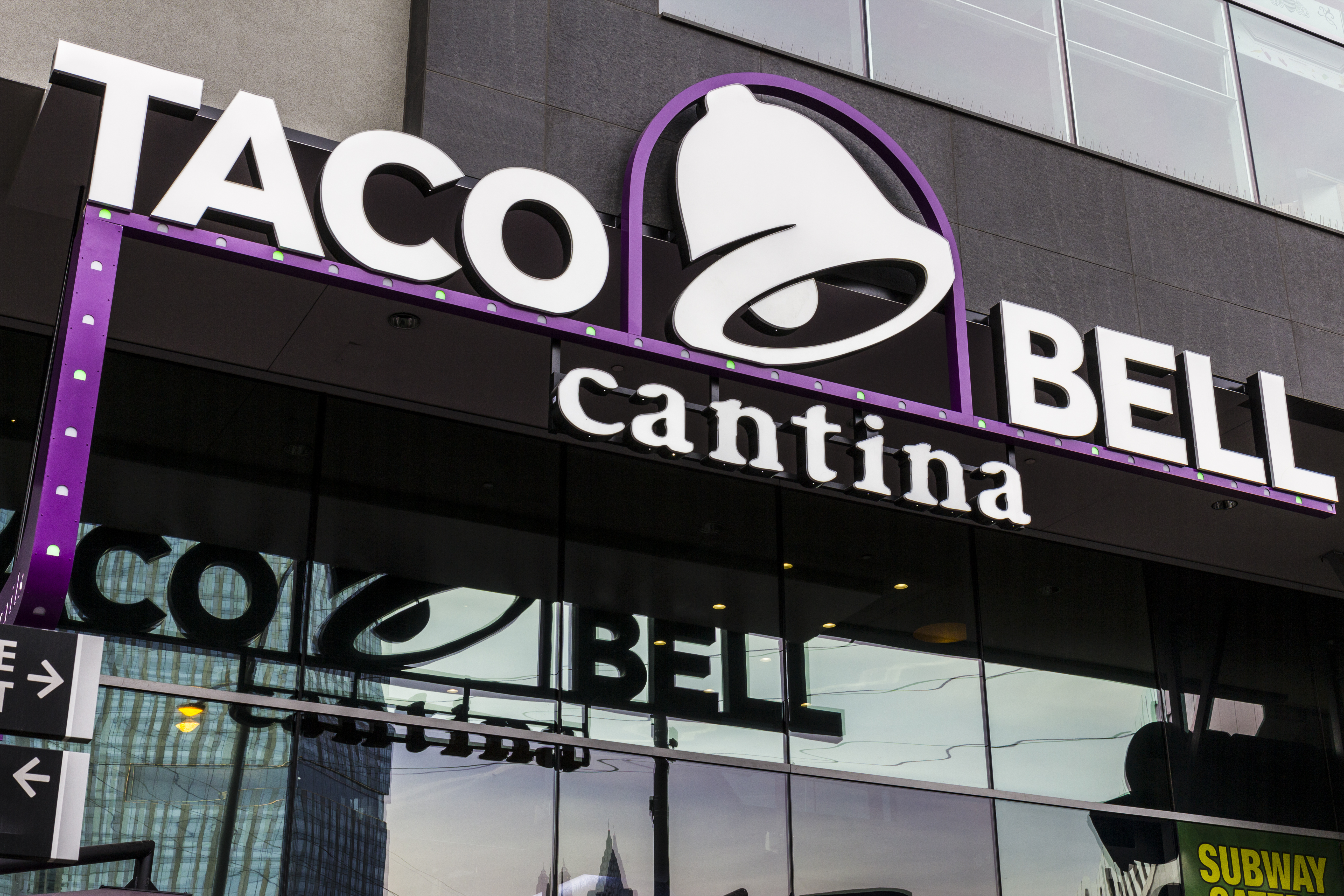 food service market research taco bell cantina