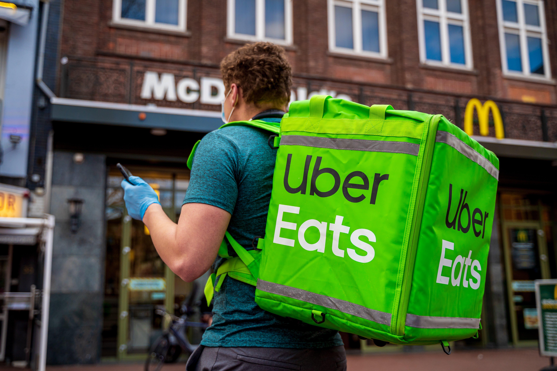 food service market research uber eats
