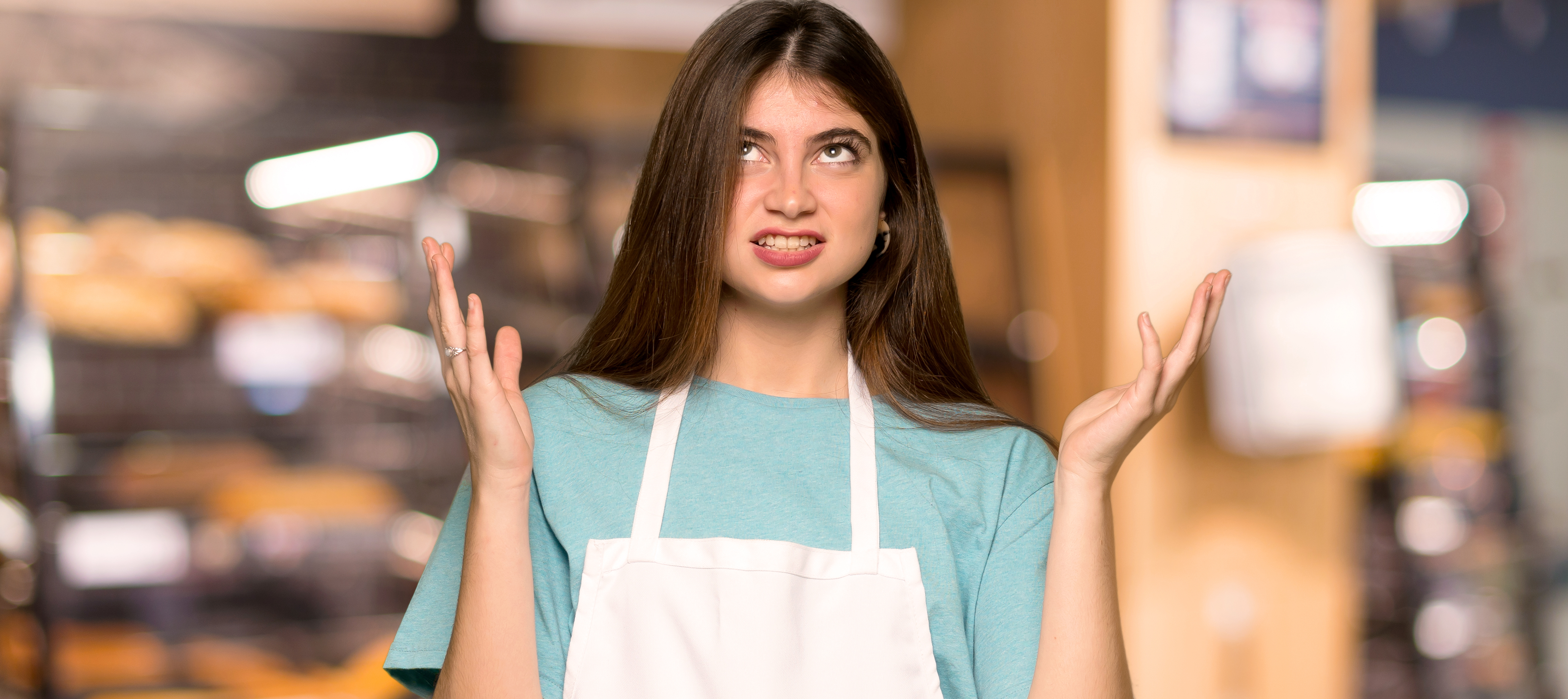 food service market research unhappy worker