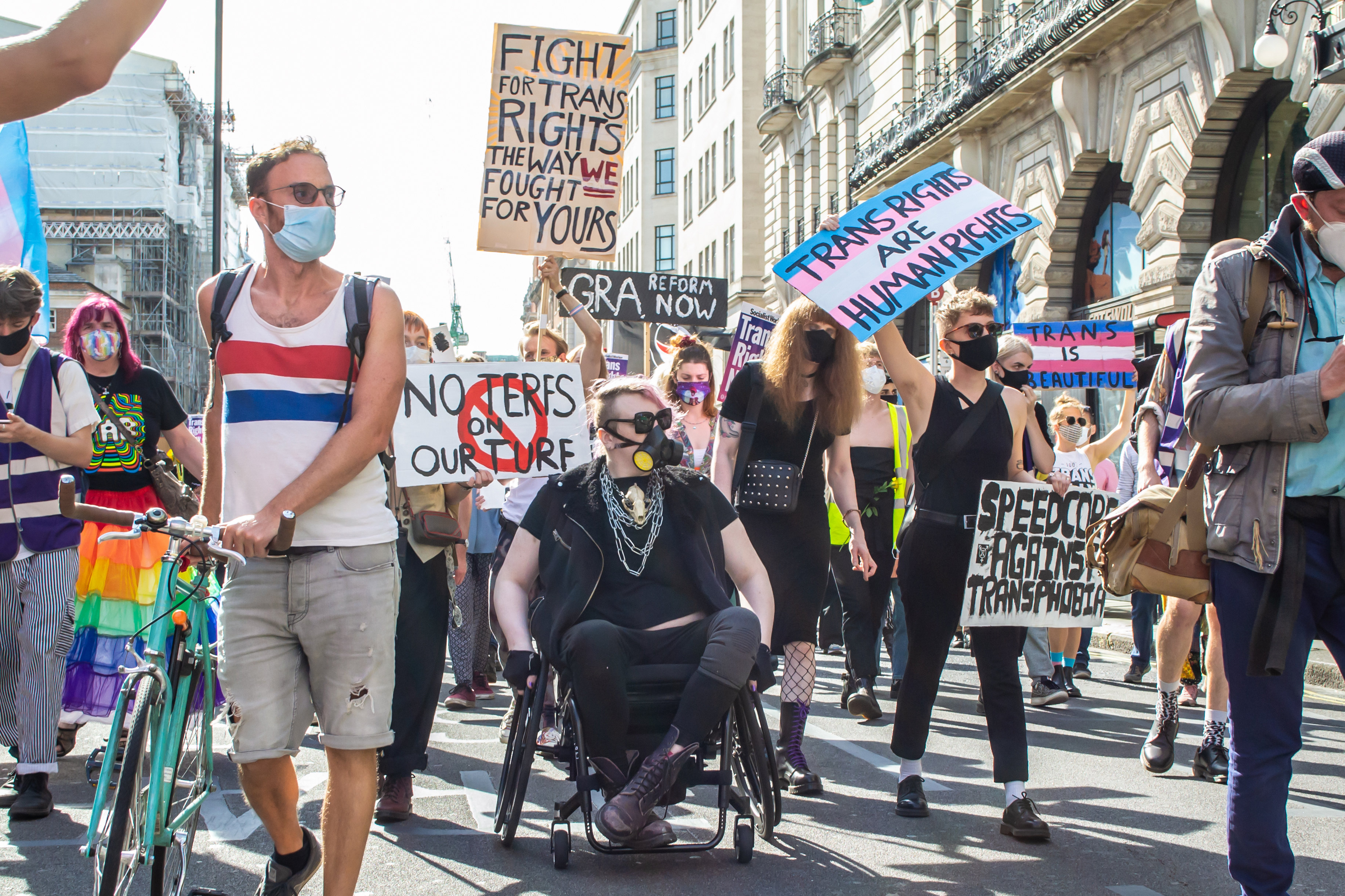 gender march