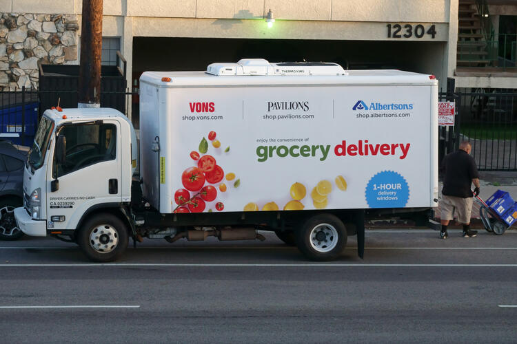 grocery market research alertsons delivery