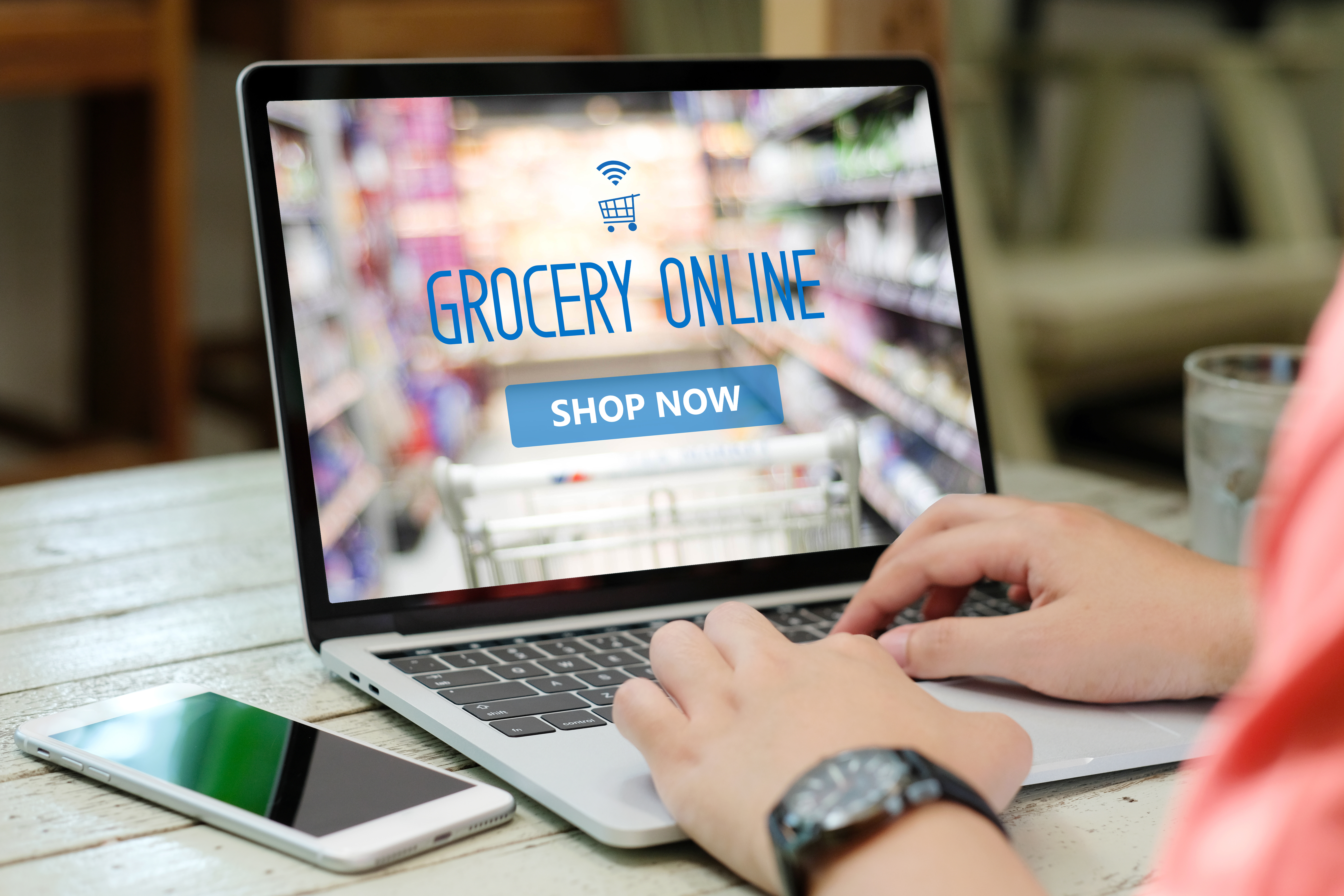 grocery market research coronavirus online grocery delivery