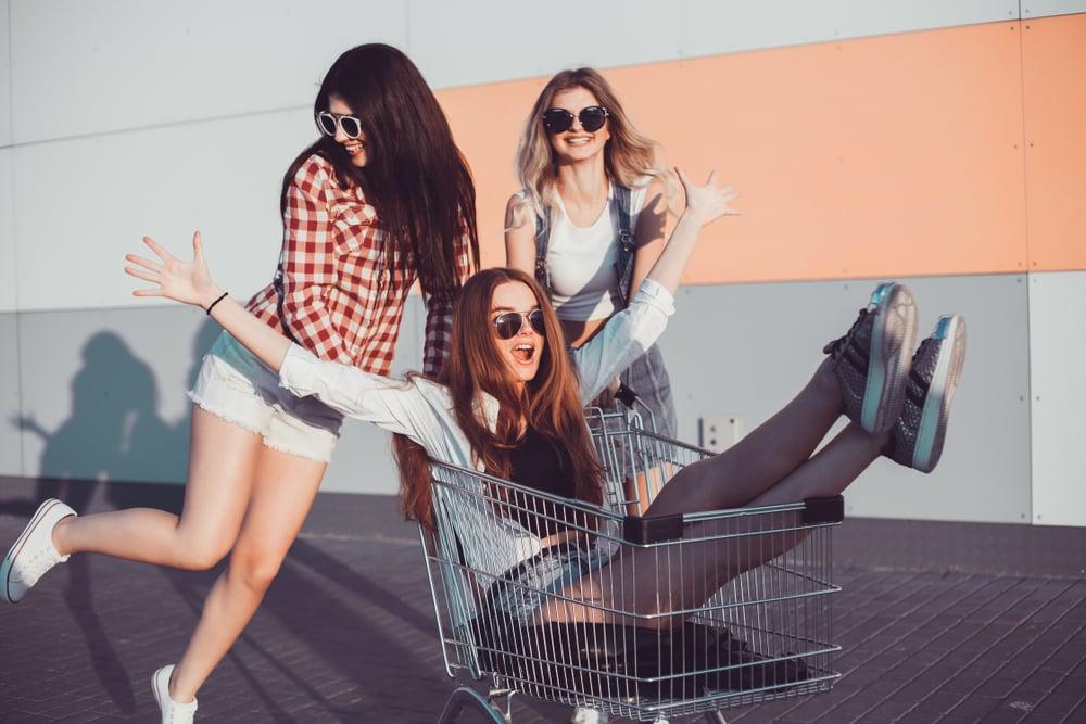 grocery market research fun shopping cart