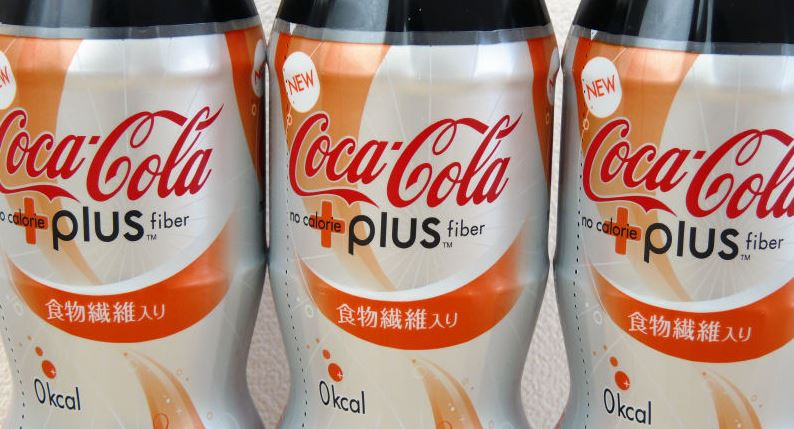 coke plus fiber beverage industry market research