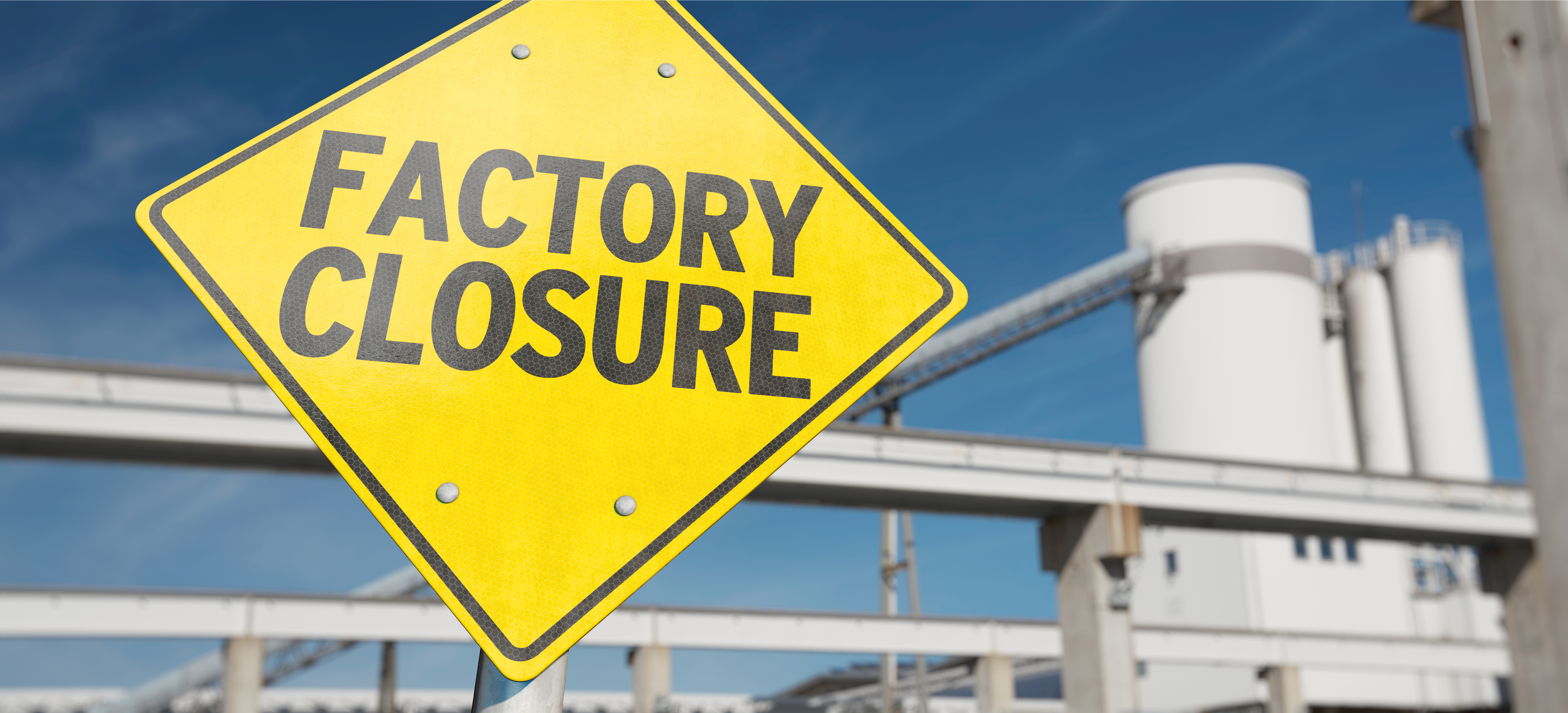 manufacturing market research factory closed