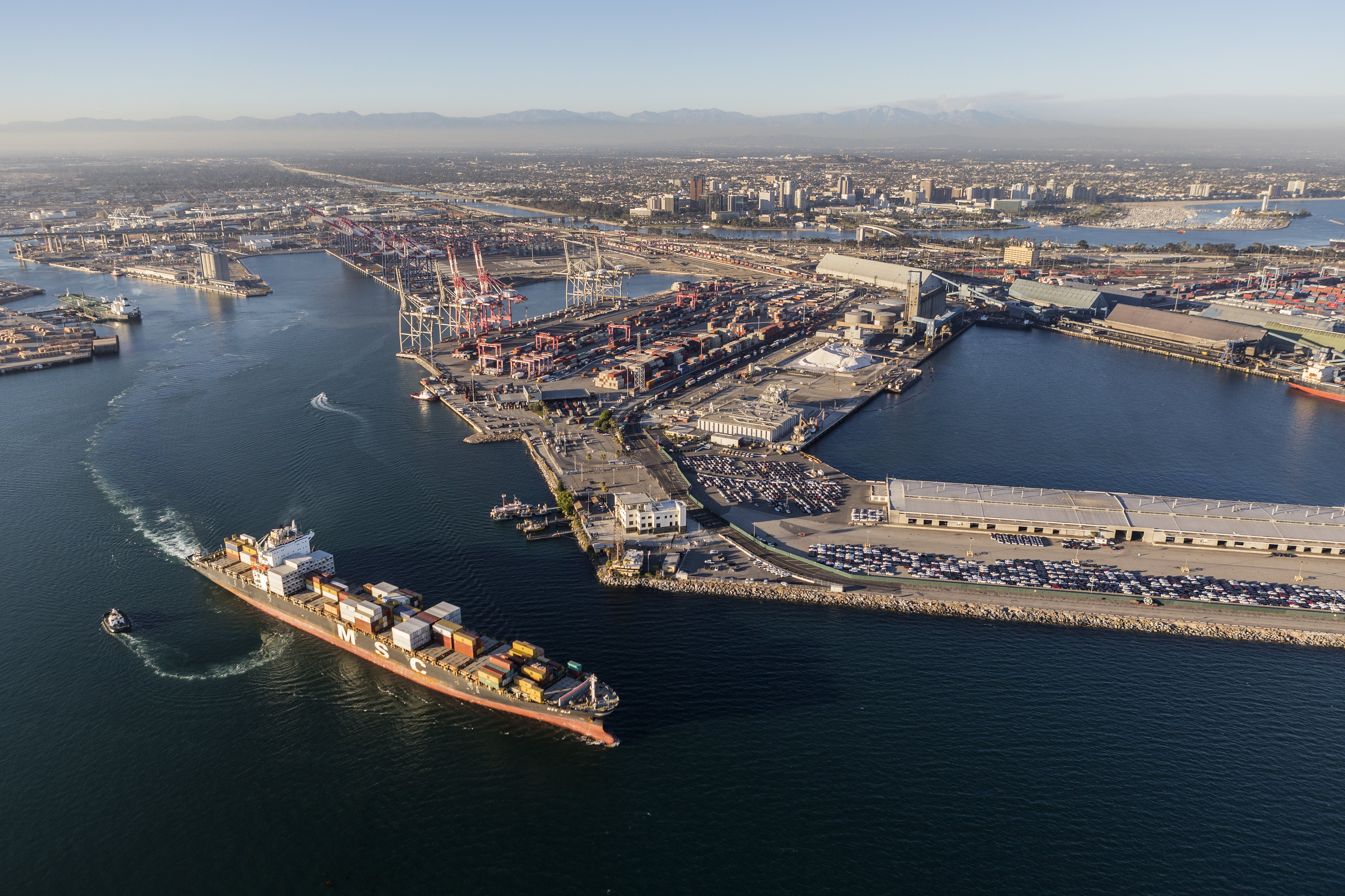 manufacturing market research port long beach