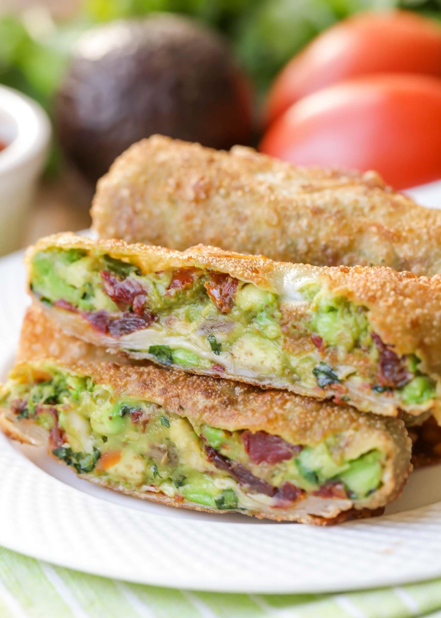 market research avocado eggrolls