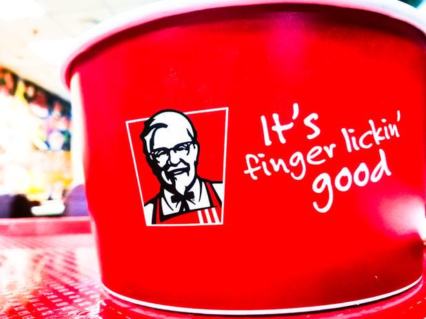 market research kfc finger lickin