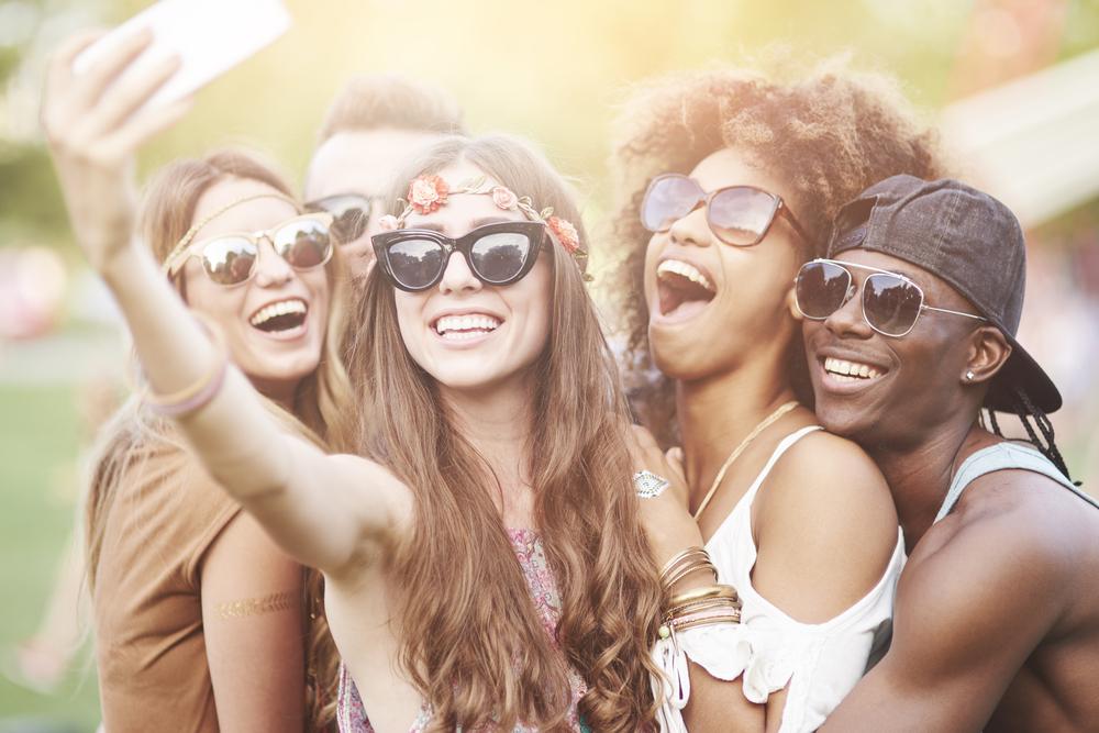 market research music festival selfie millennial