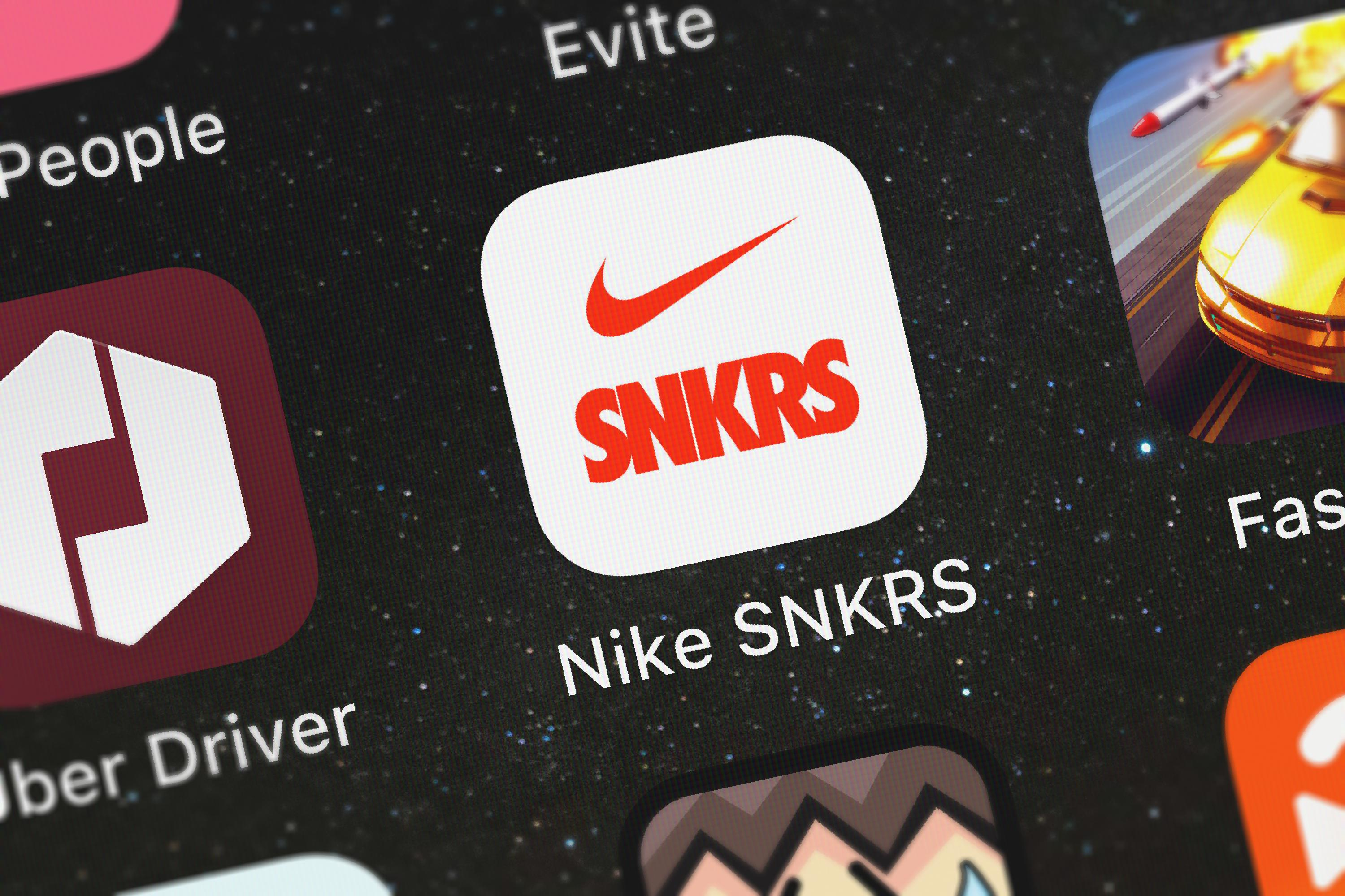 market research nike snkrs