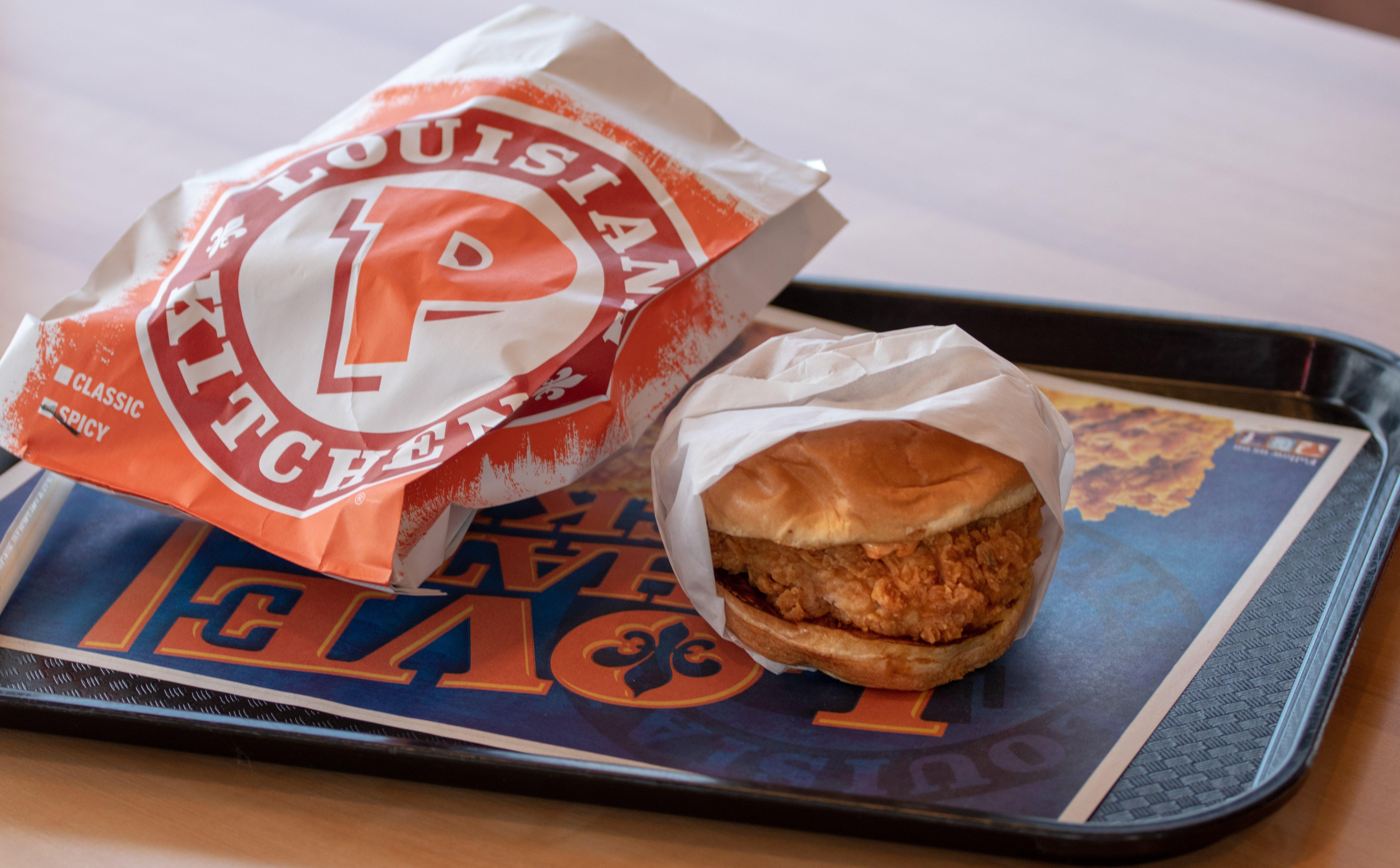 market research popeye chicken sandwich
