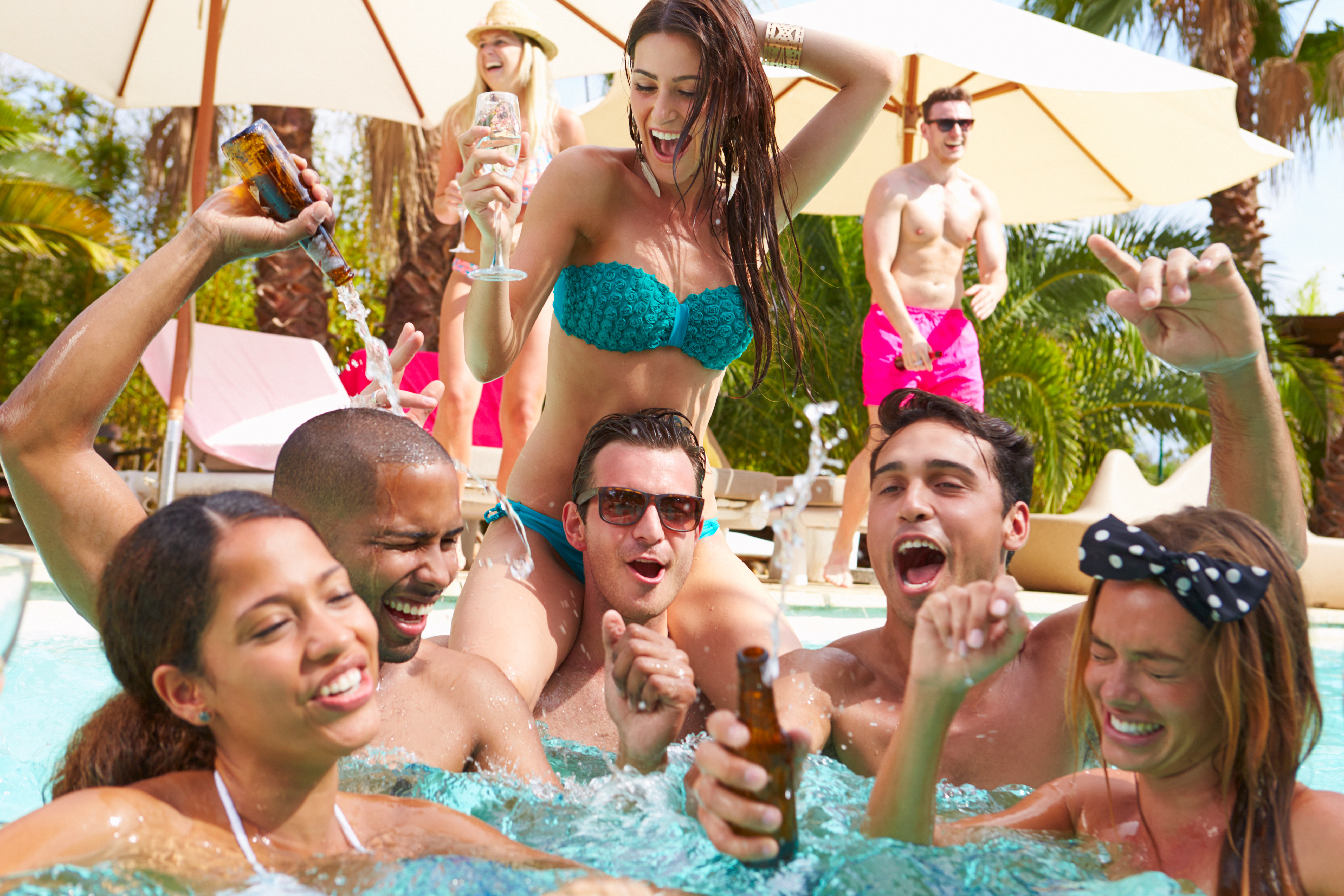 market research wine can pool party