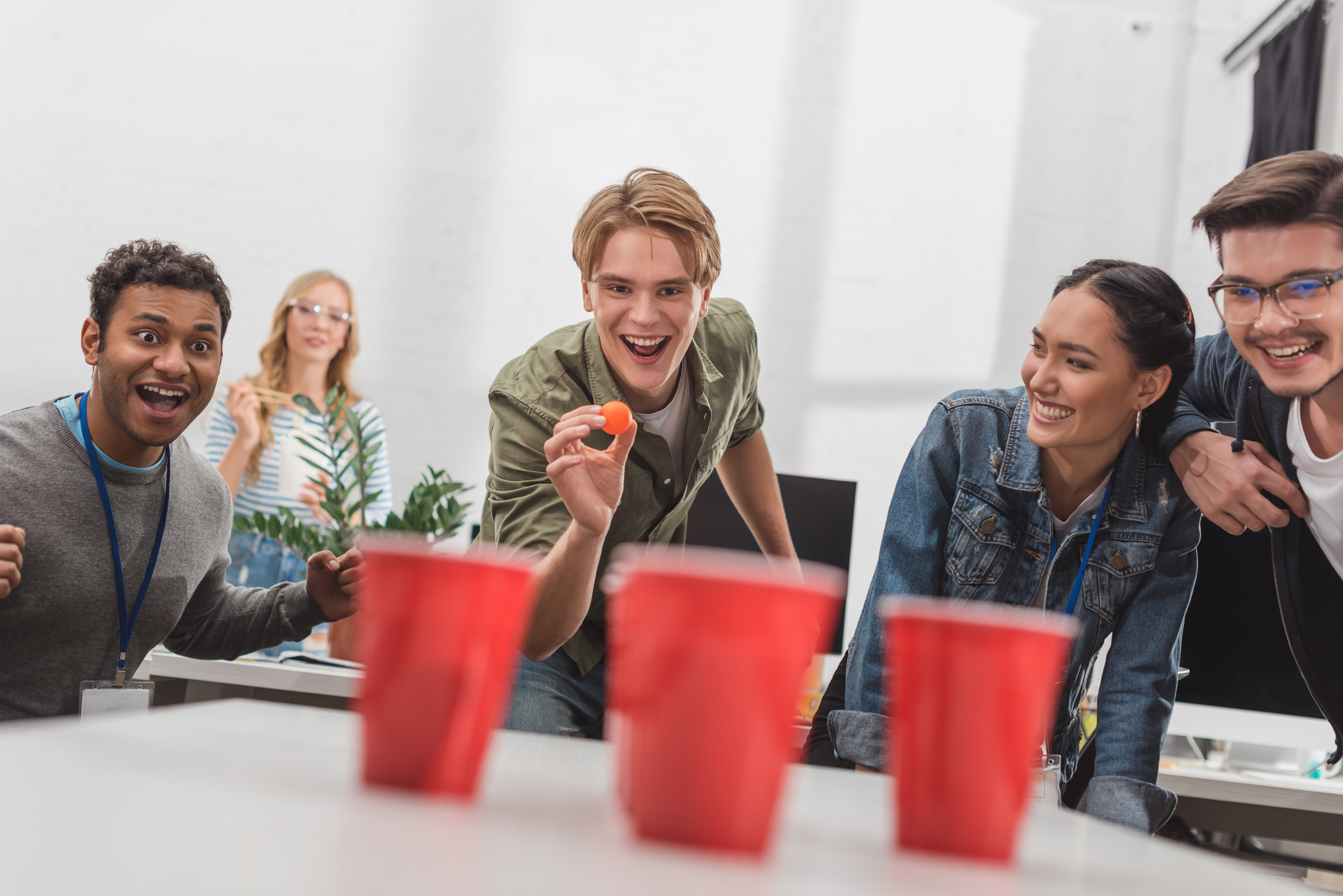 marketing agency market research beer pong