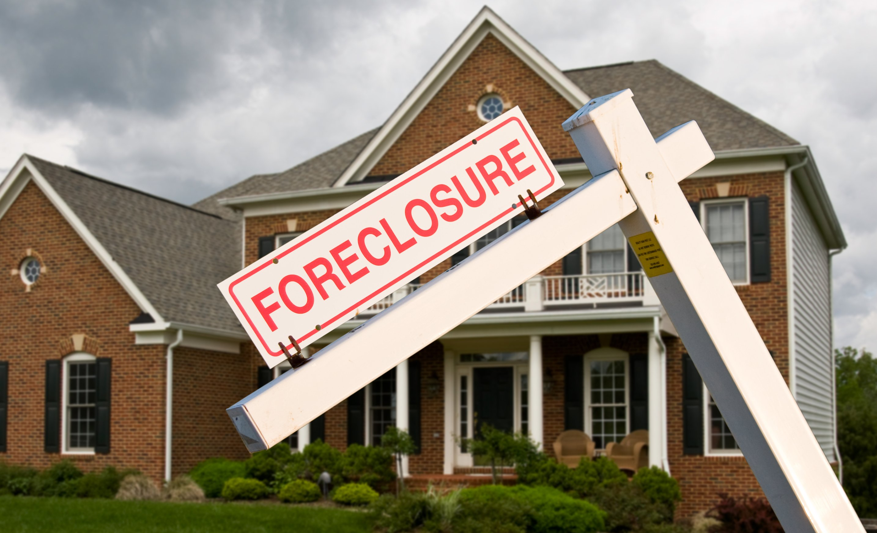 occupancy verification for foreclosure