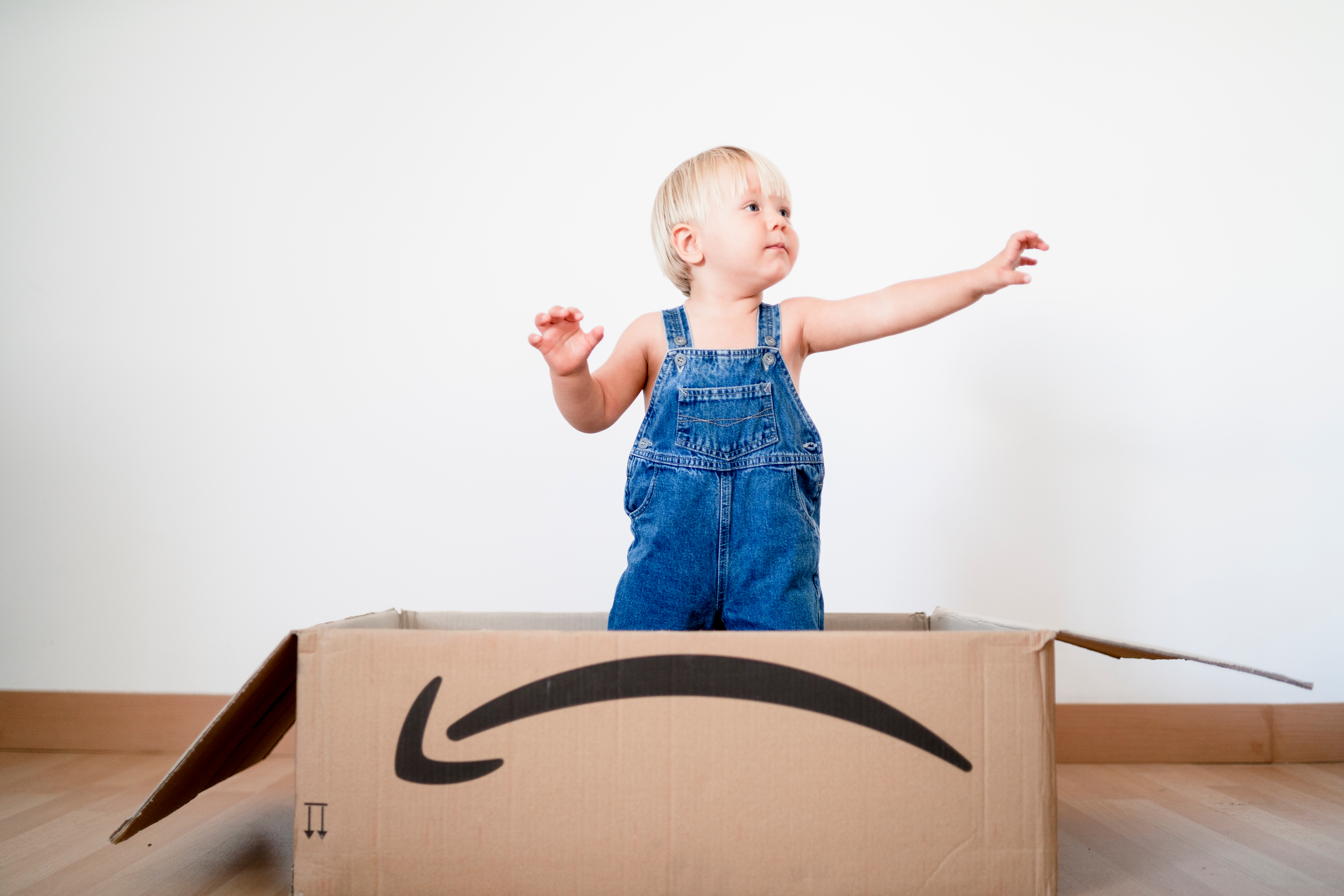 omnichannel market research amazon box child