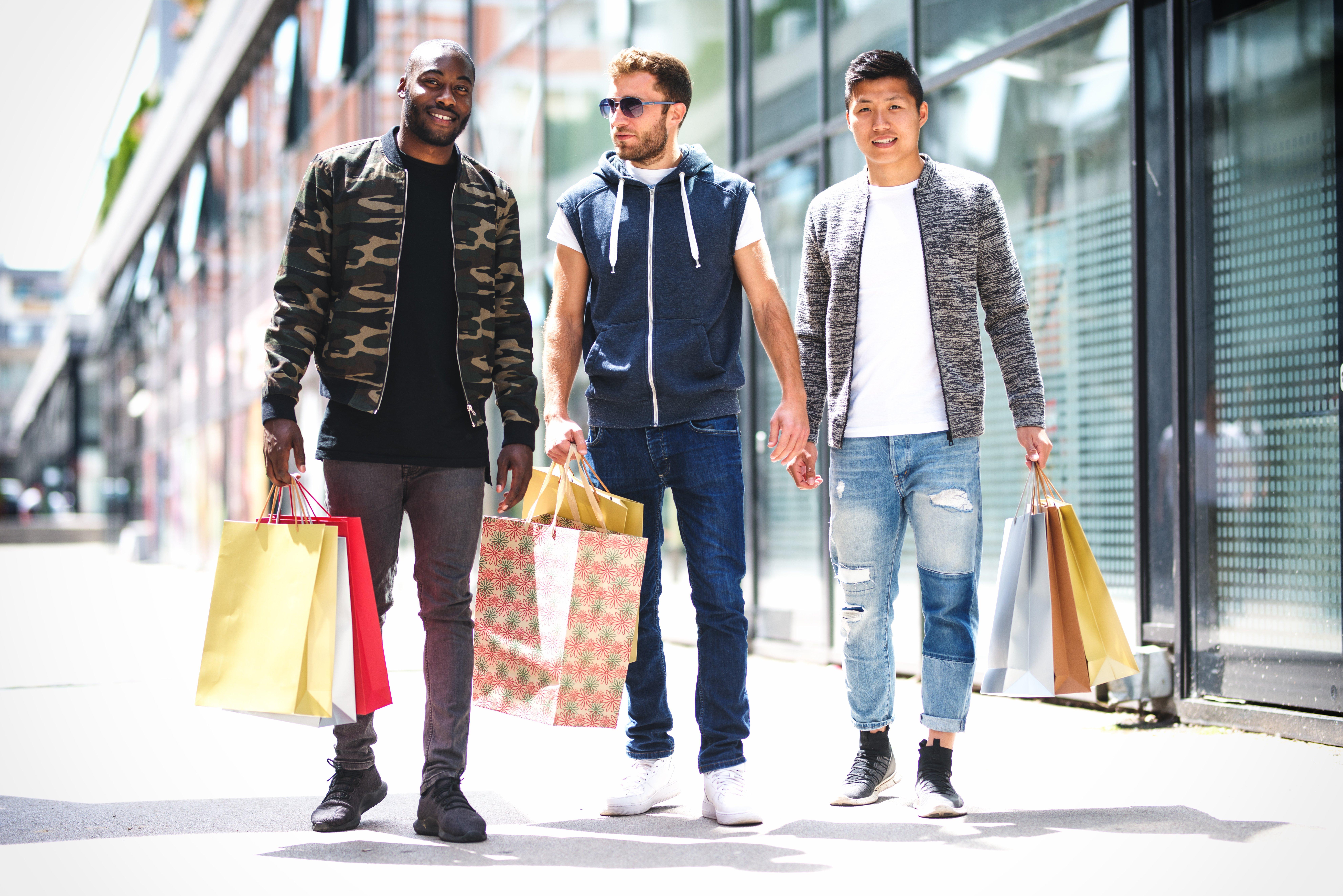 onsite inspection boys shopping spree
