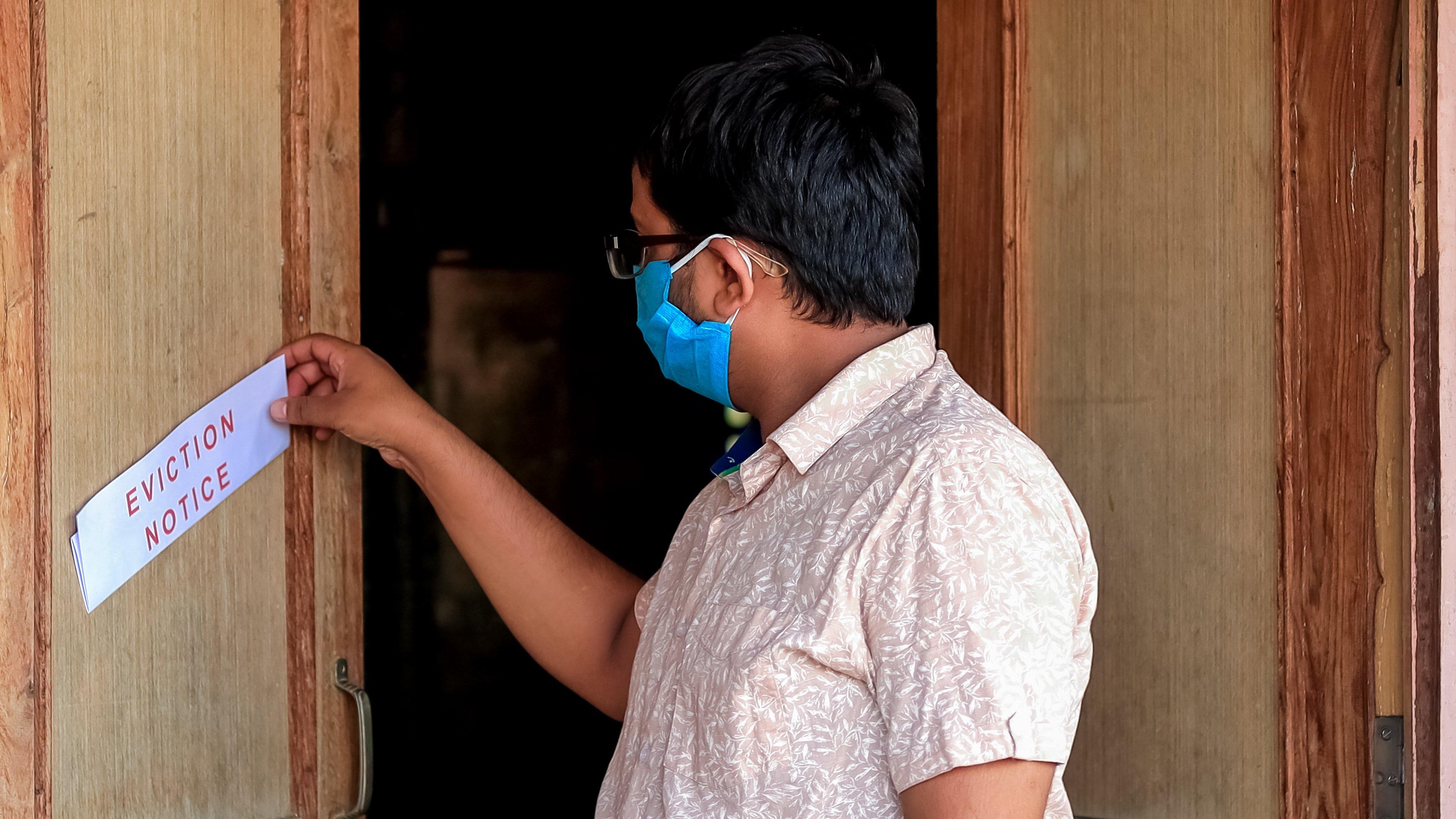 onsite inspection credit bureau covid eviction