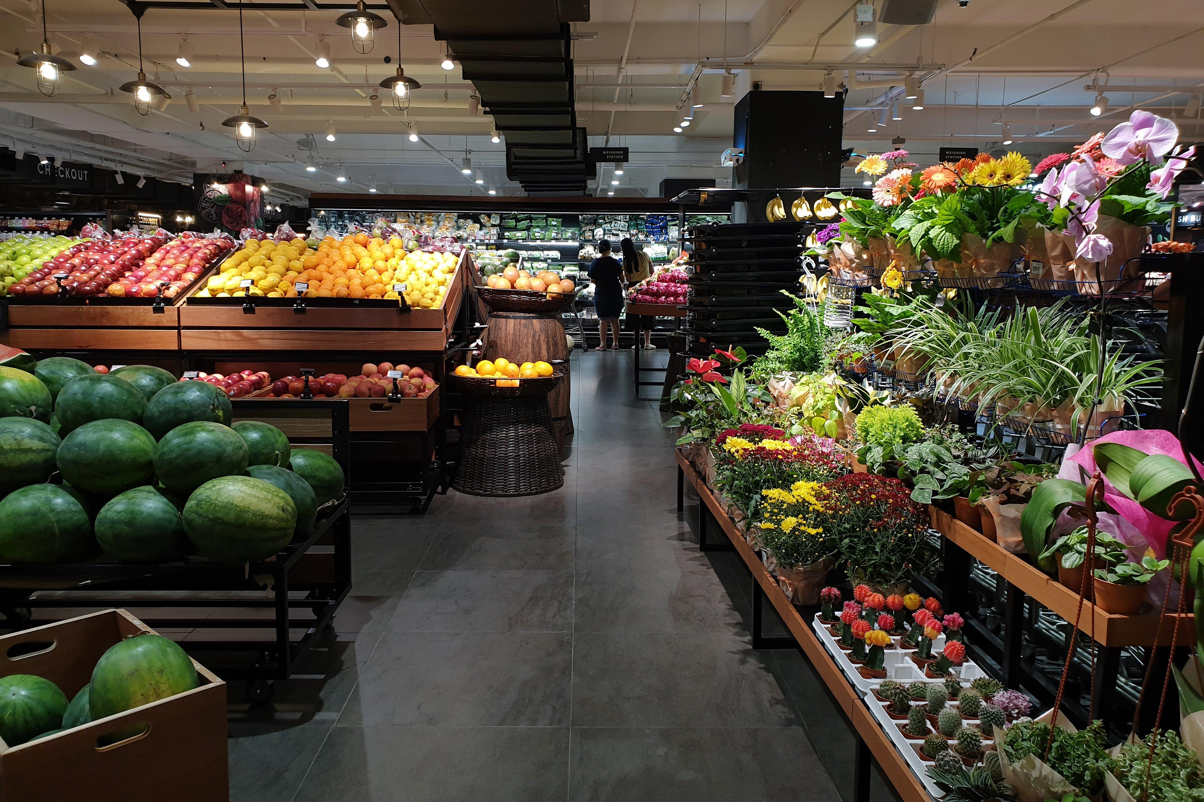 panel surveys grocery plants