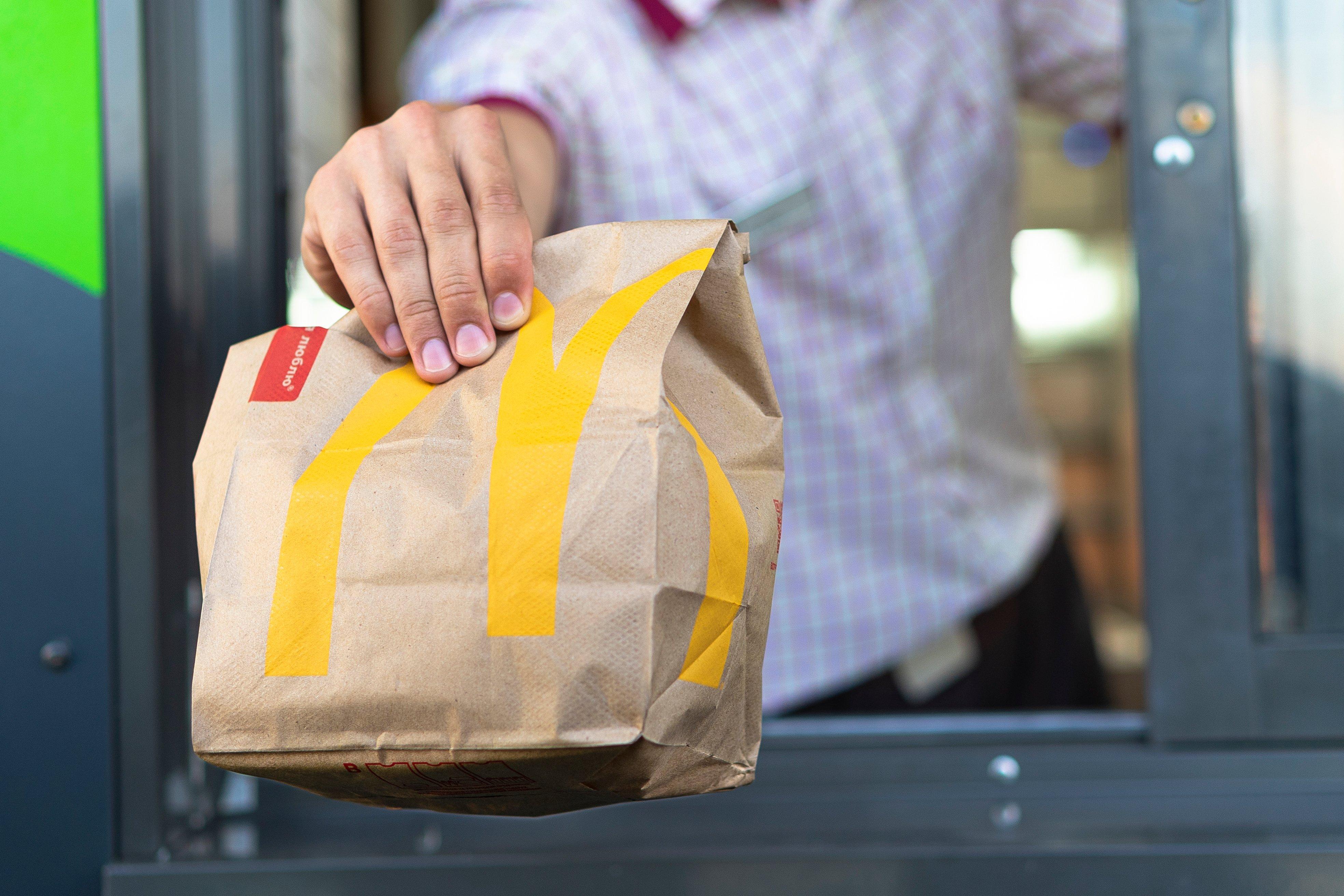 qsr food service market research mcdonalds bag