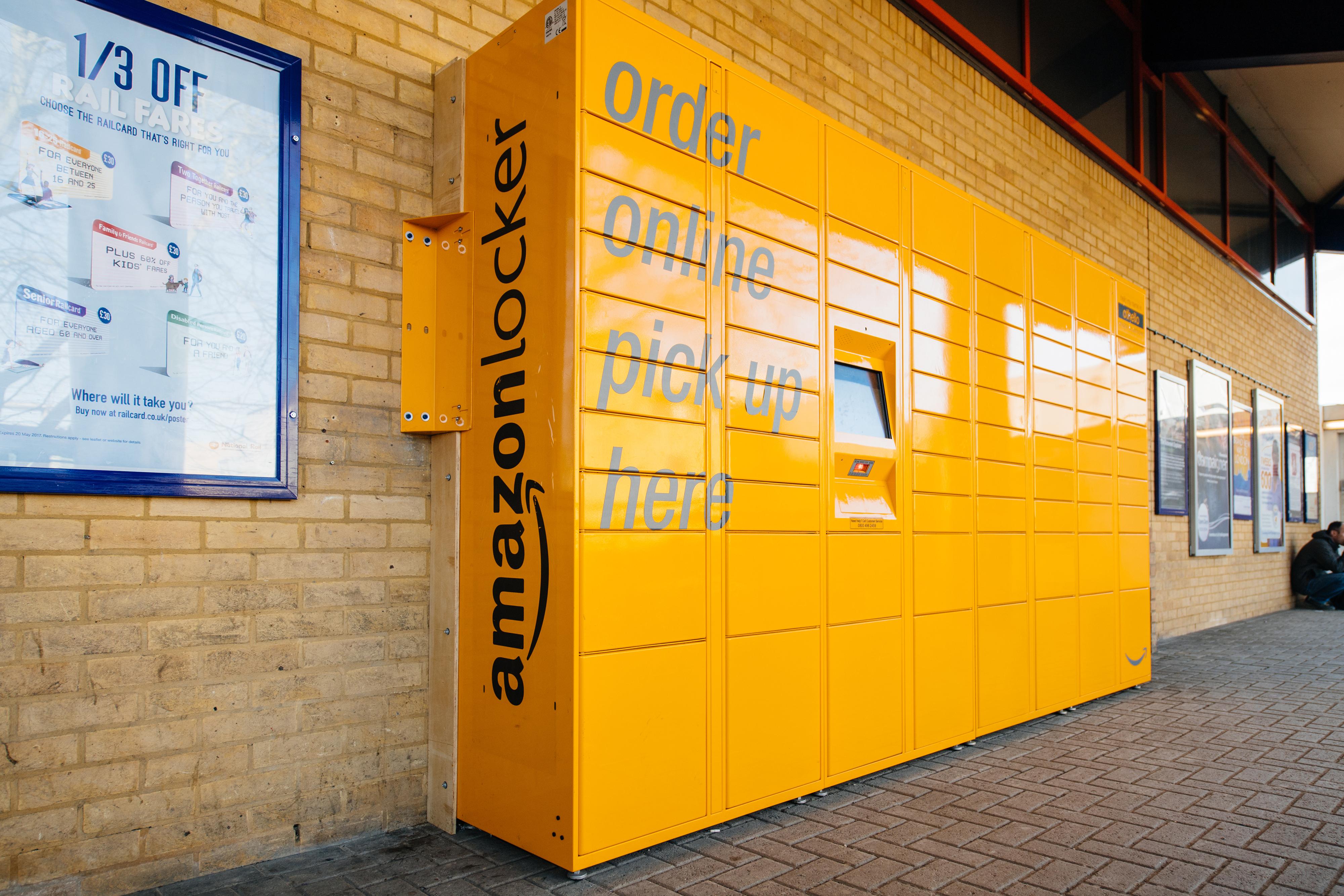 retail industry report market research amazon locker