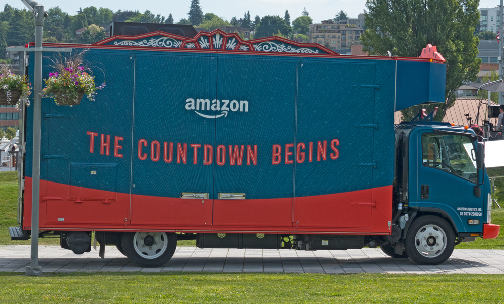 retail market research amazon delivery