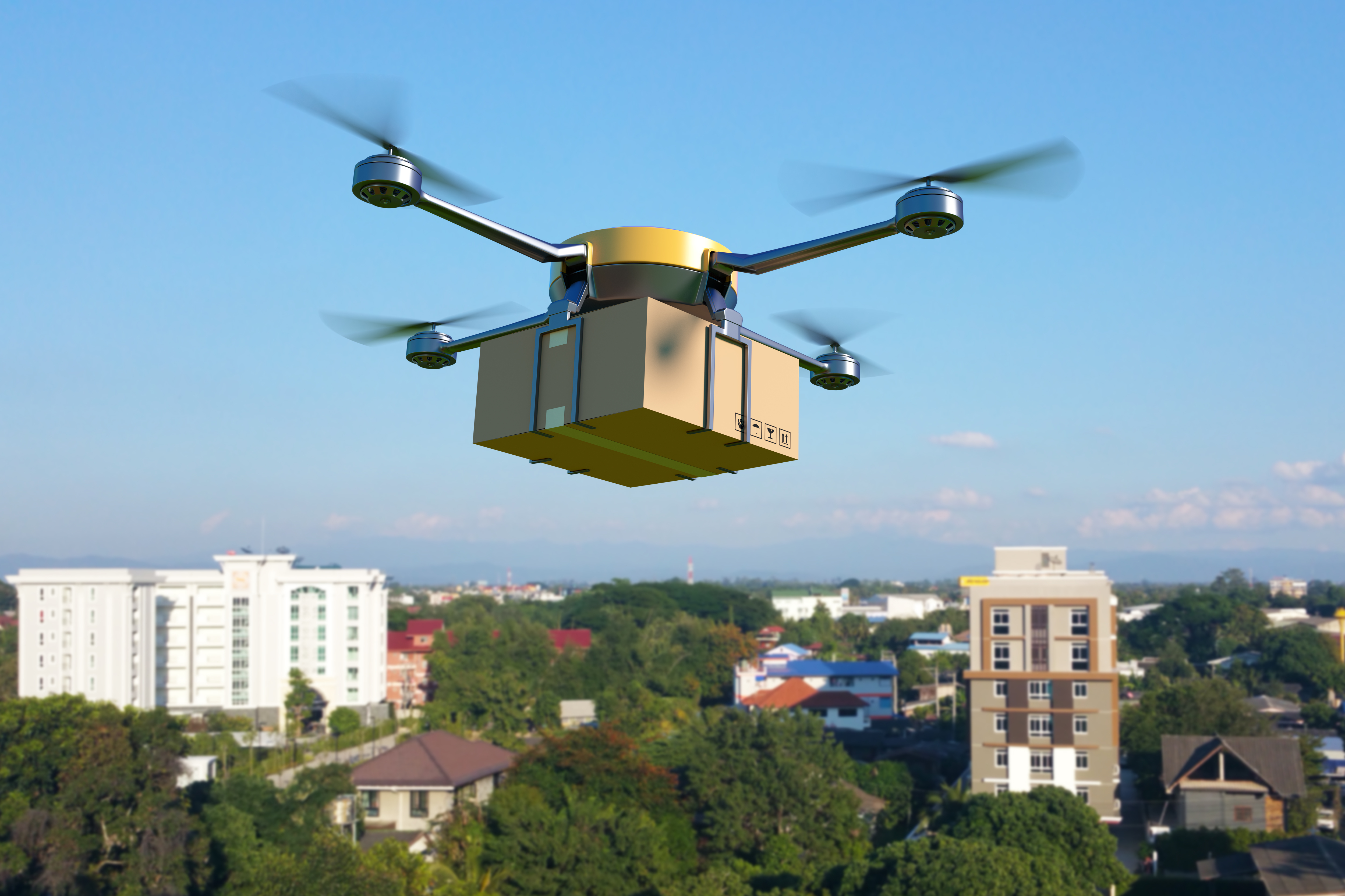 retail market research drone delivery