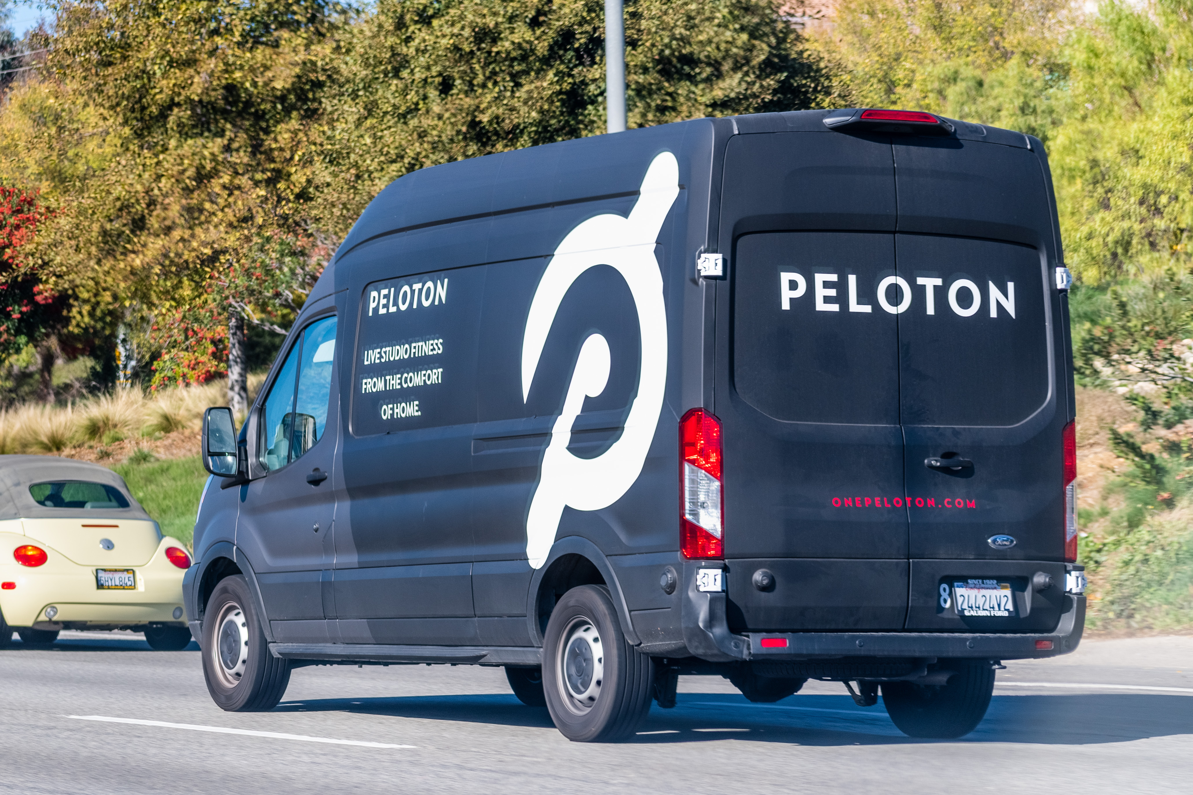 retail market research peloton delivery