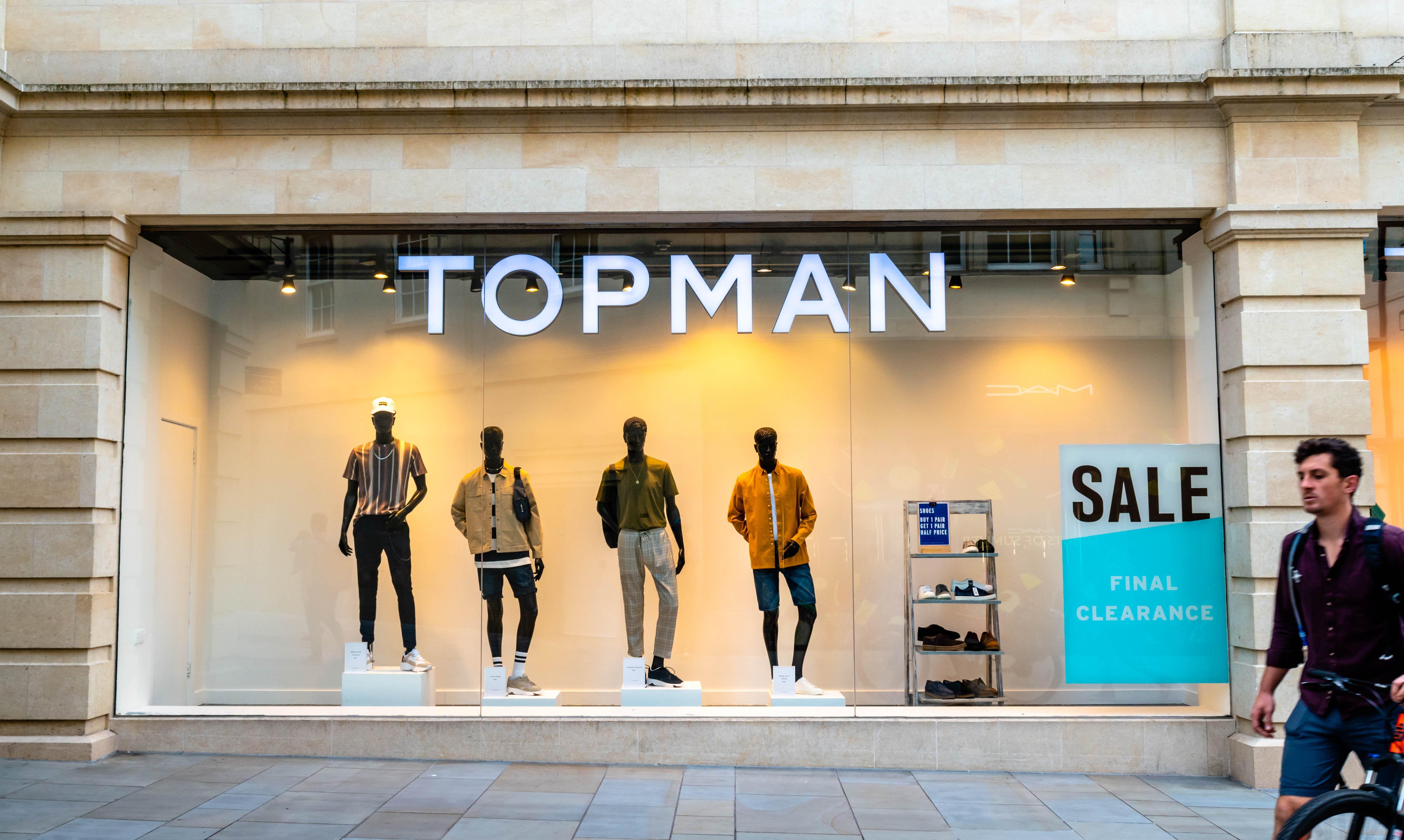 retail market research topman