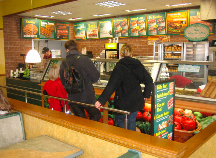 subway restaurant market research food