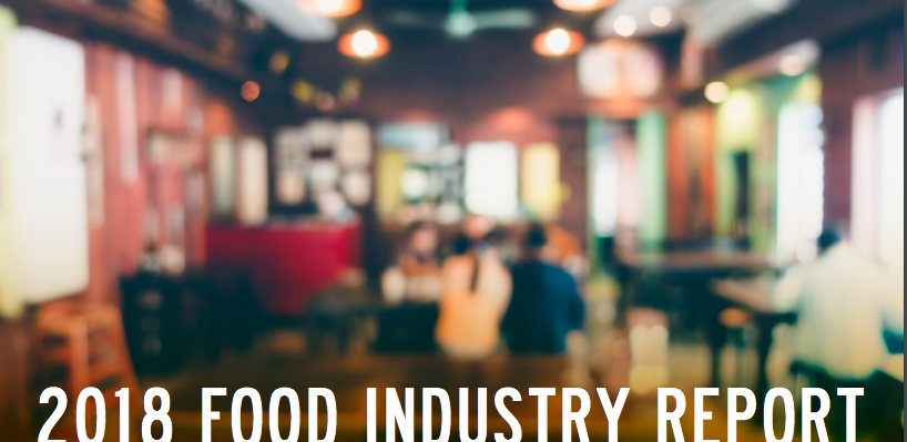 2018 Food Service Industry Report