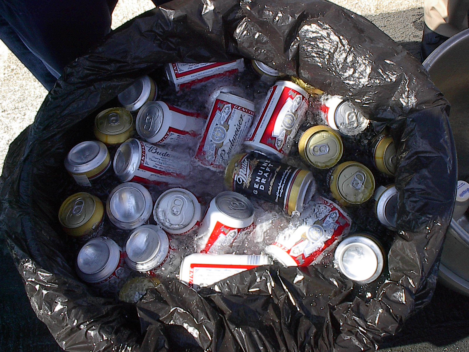 cpg market research beer can trash
