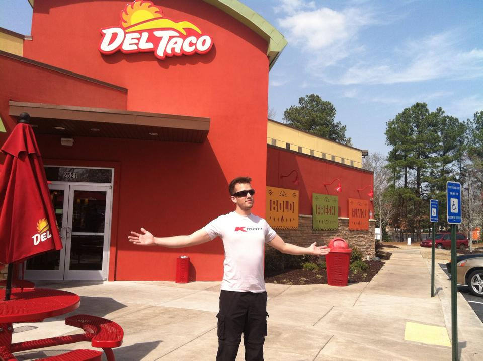 fast food market research del taco