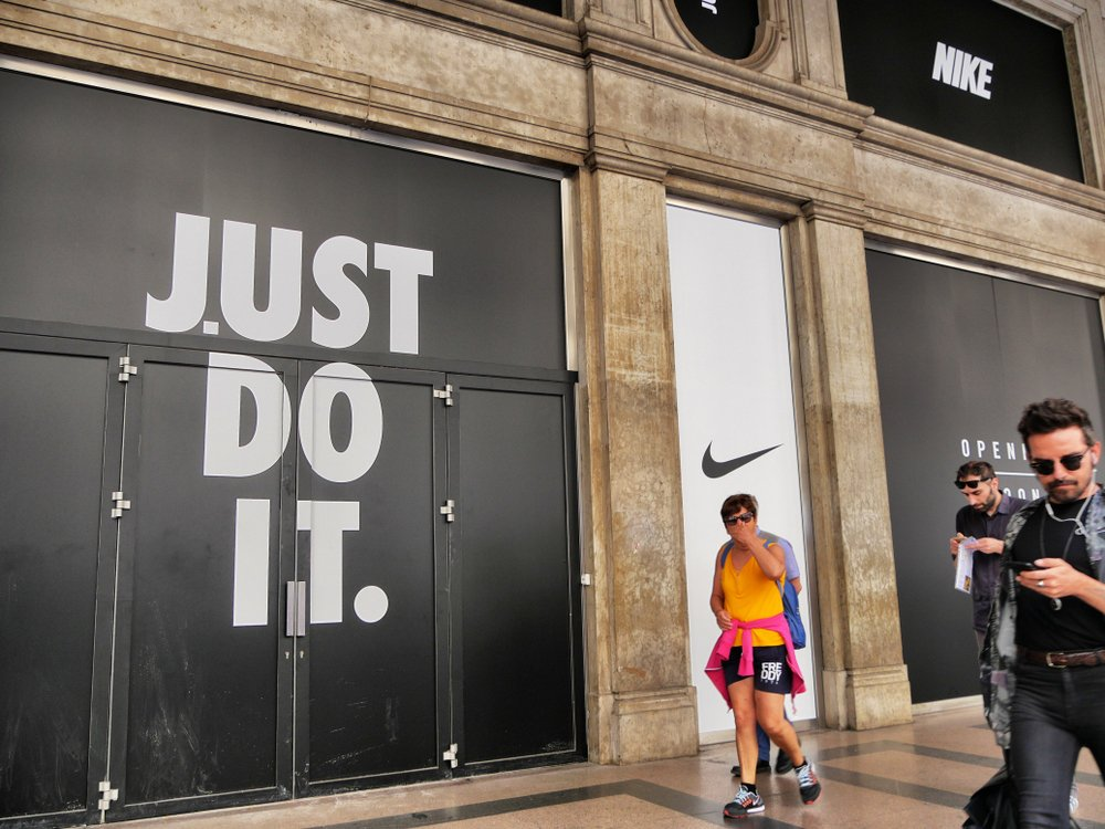 manufacturing market research nike just do it